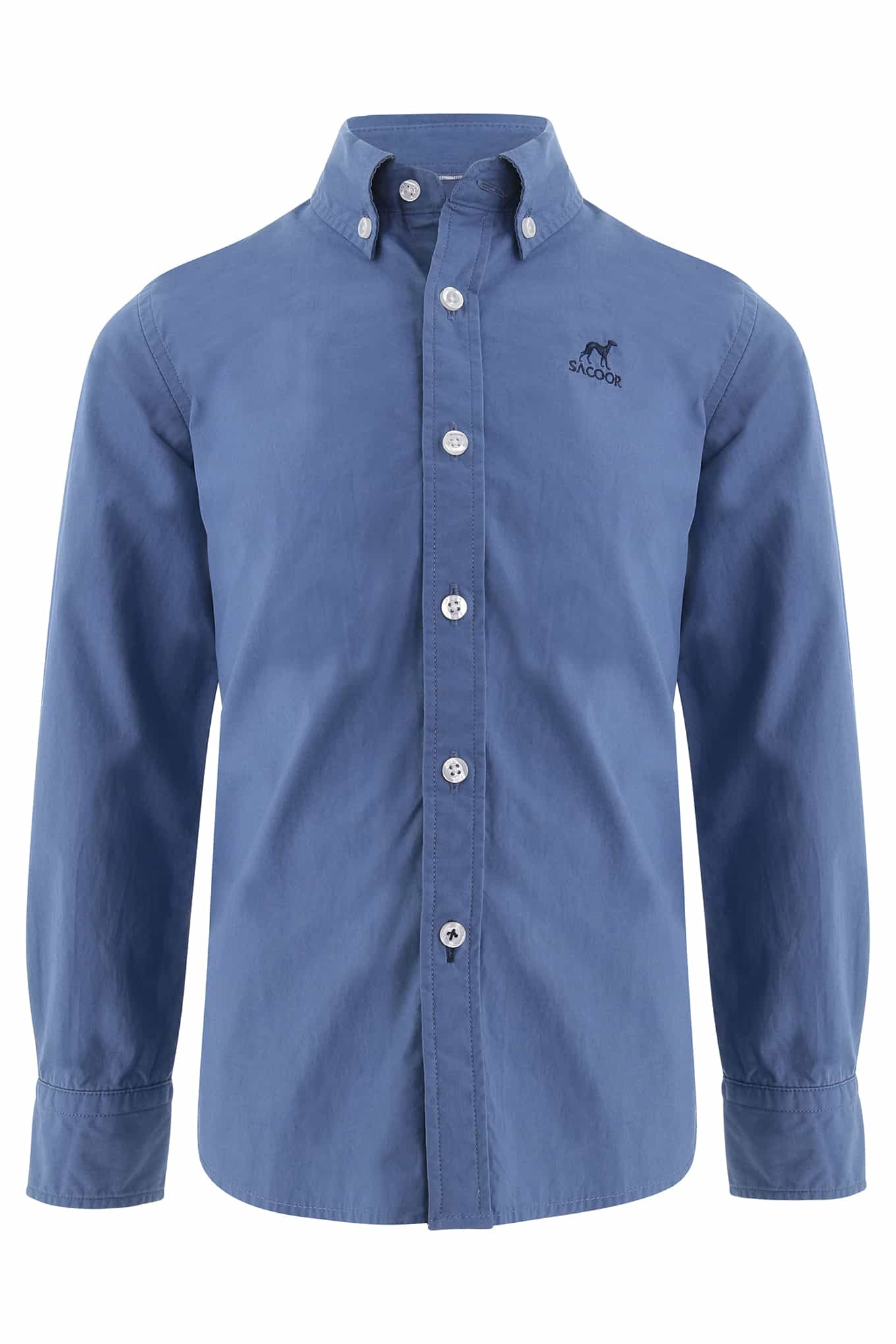 Shirt Blue Casual Boy