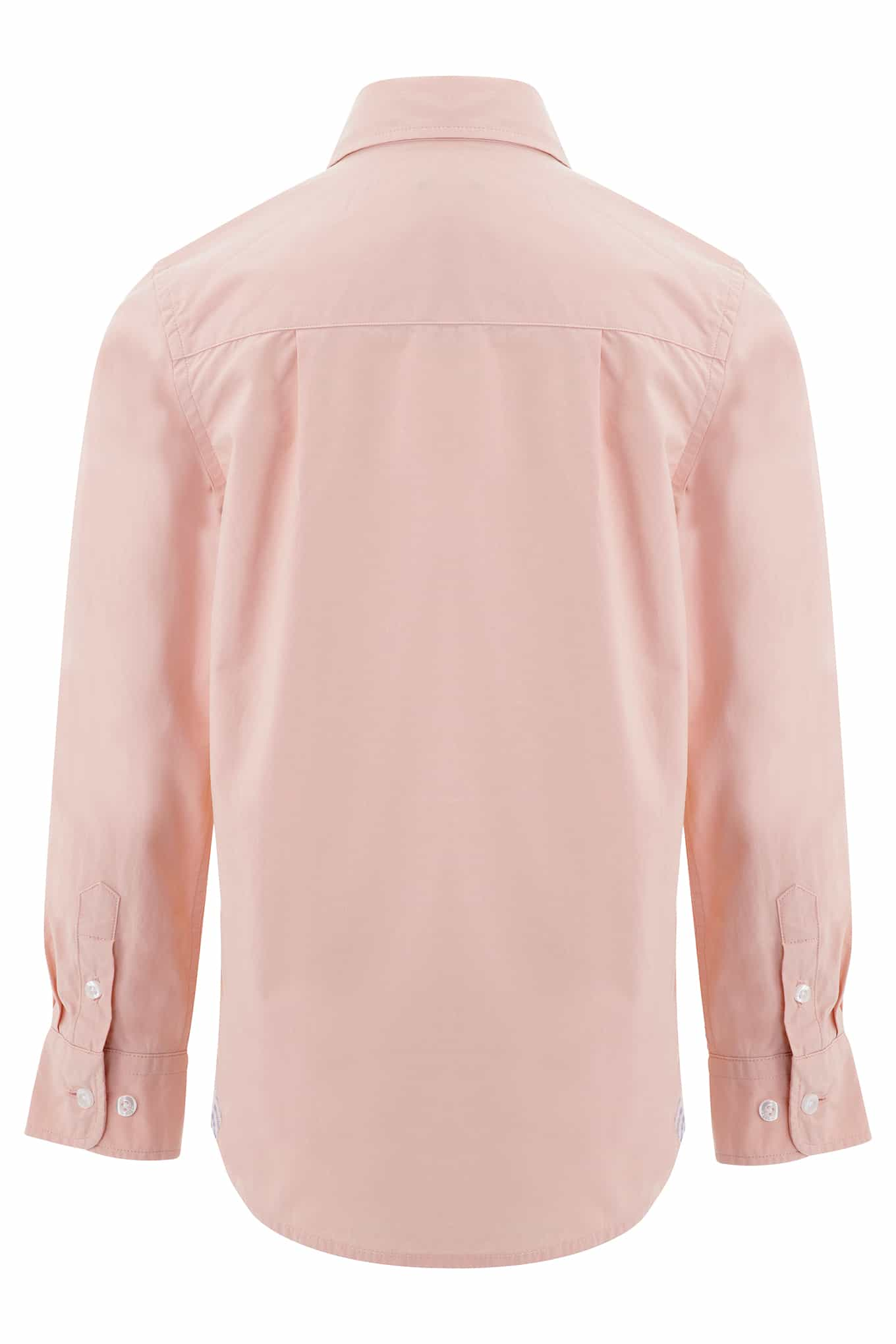 Shirt Light Pink Casual Boy