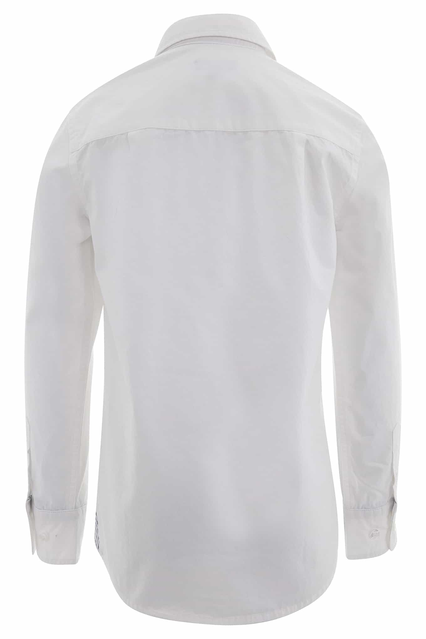 Shirt White Casual Boy