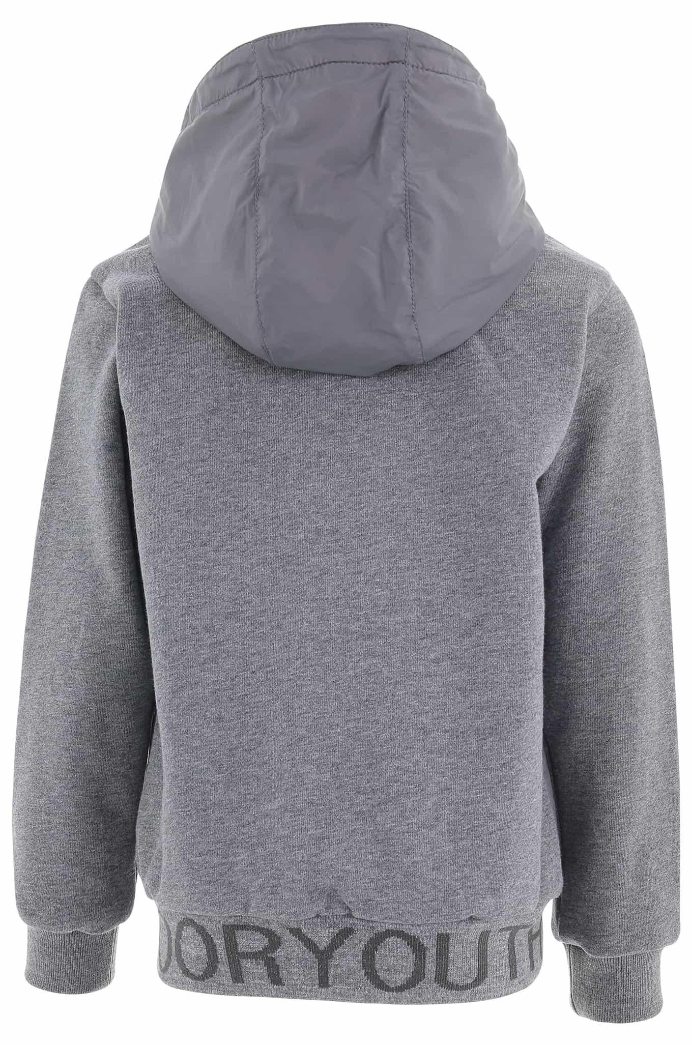 Jacket Dark Grey Casual Boy