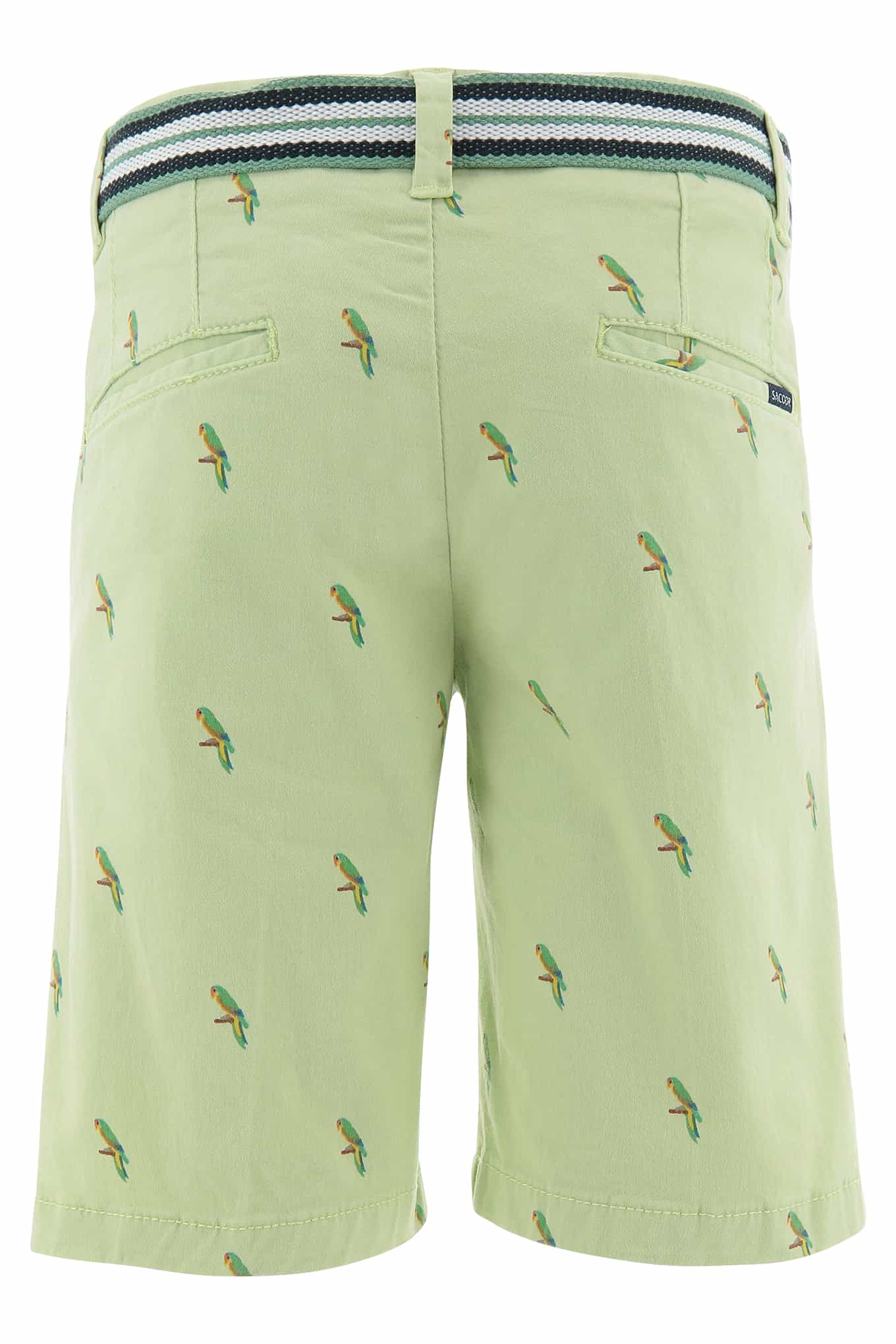Bermuda Light Green Sport Boy