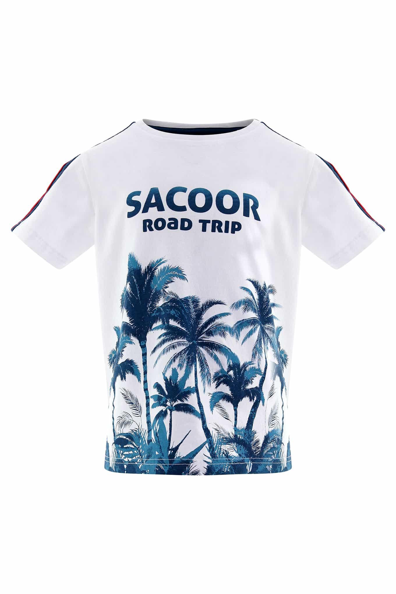 T-Shirt Branco Sport Rapaz