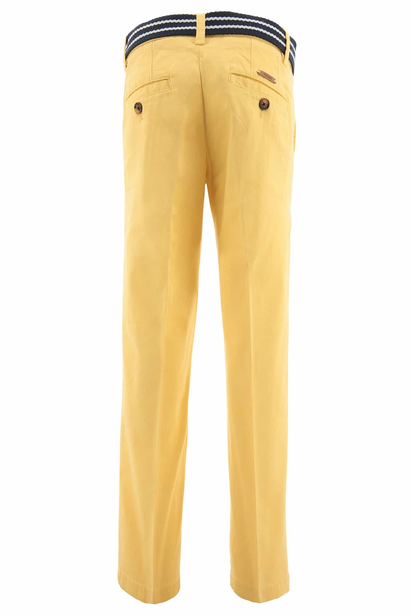 Chino Trousers Light Yellow Sport Boy
