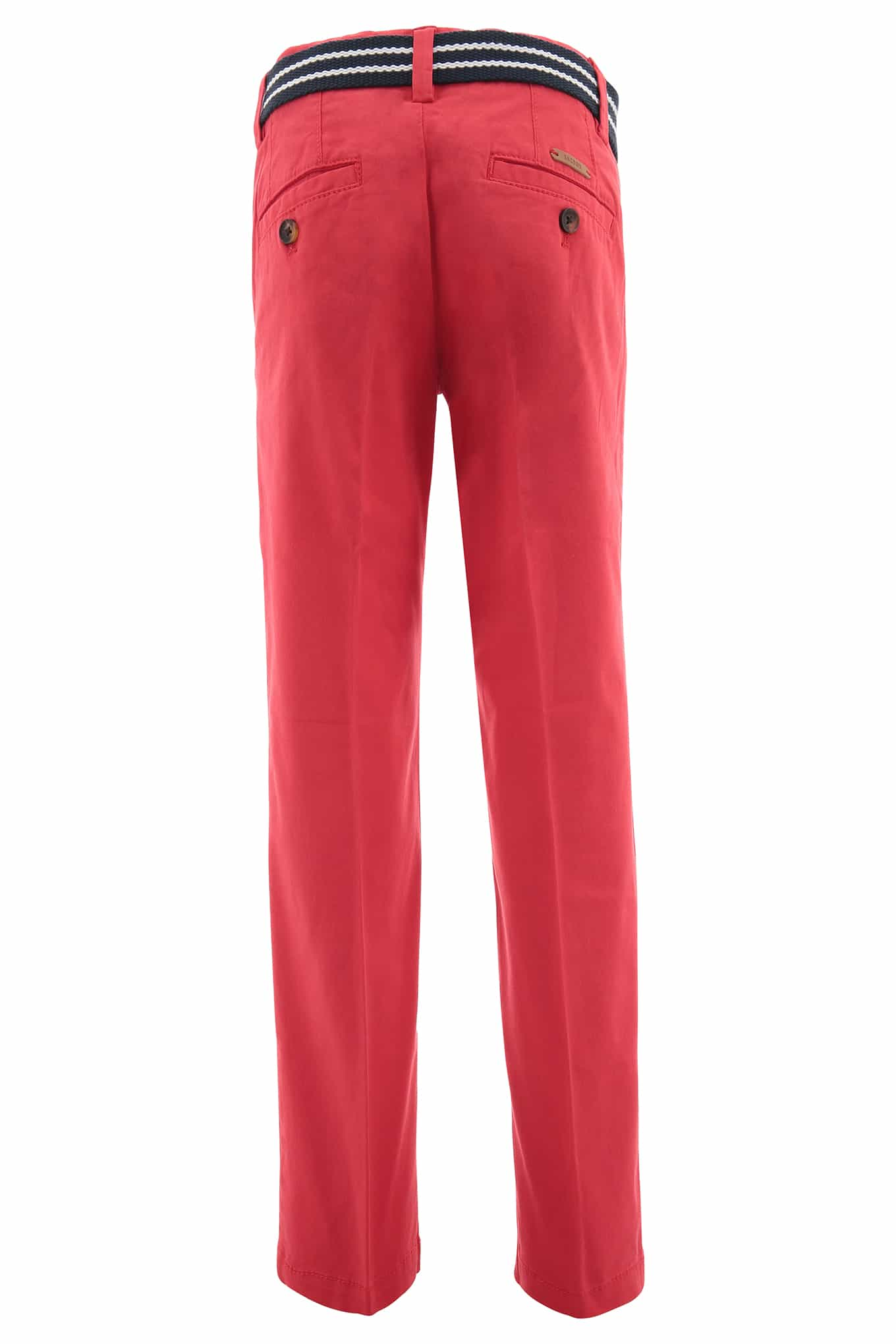 Chino Trousers Red Sport Boy