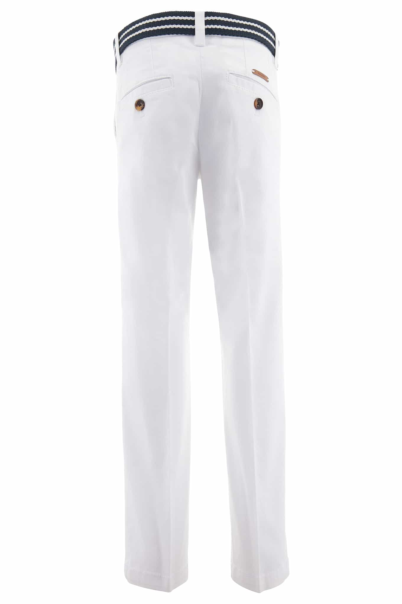Chino Trousers White Sport Boy