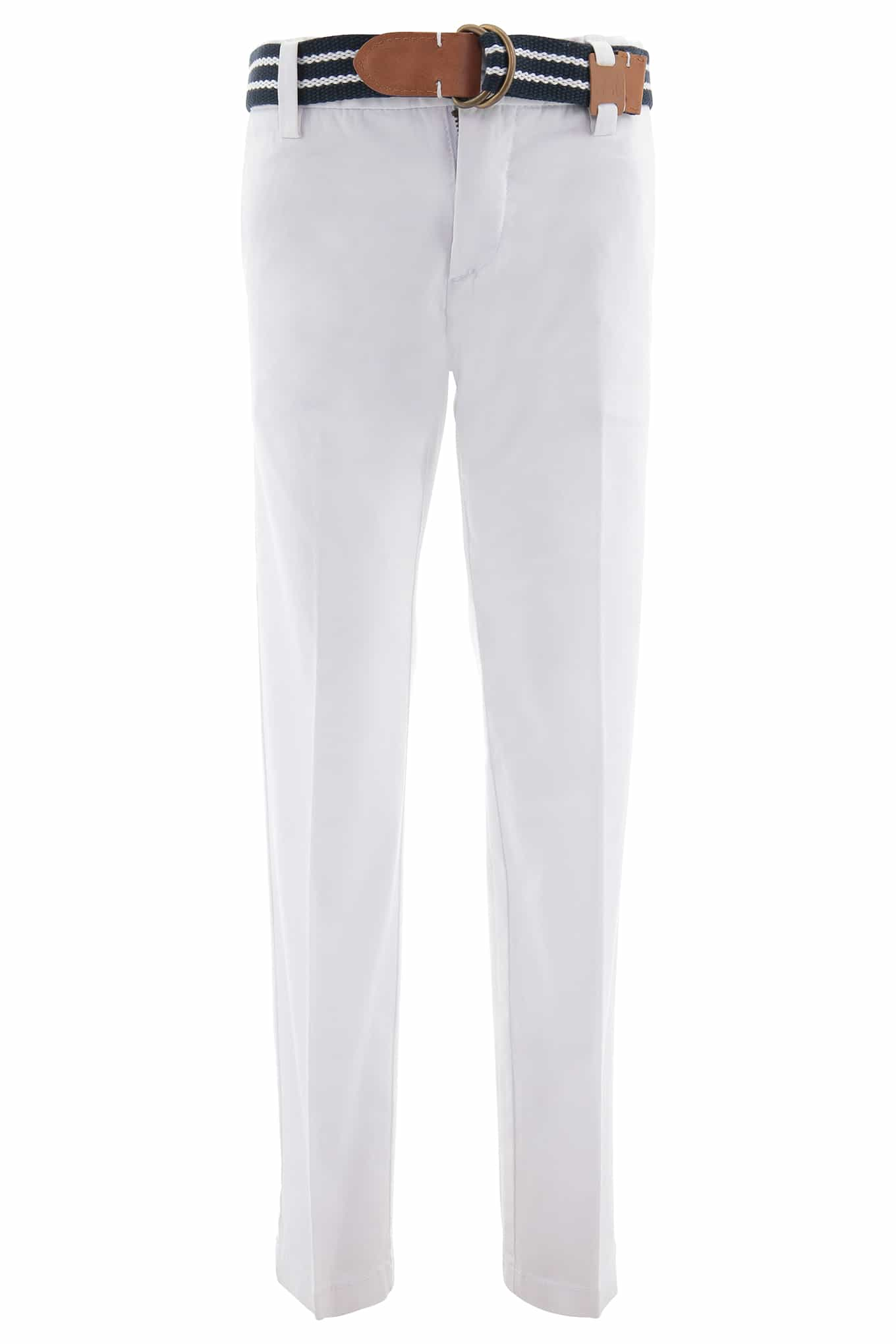 Chino Trousers White Sport Boy