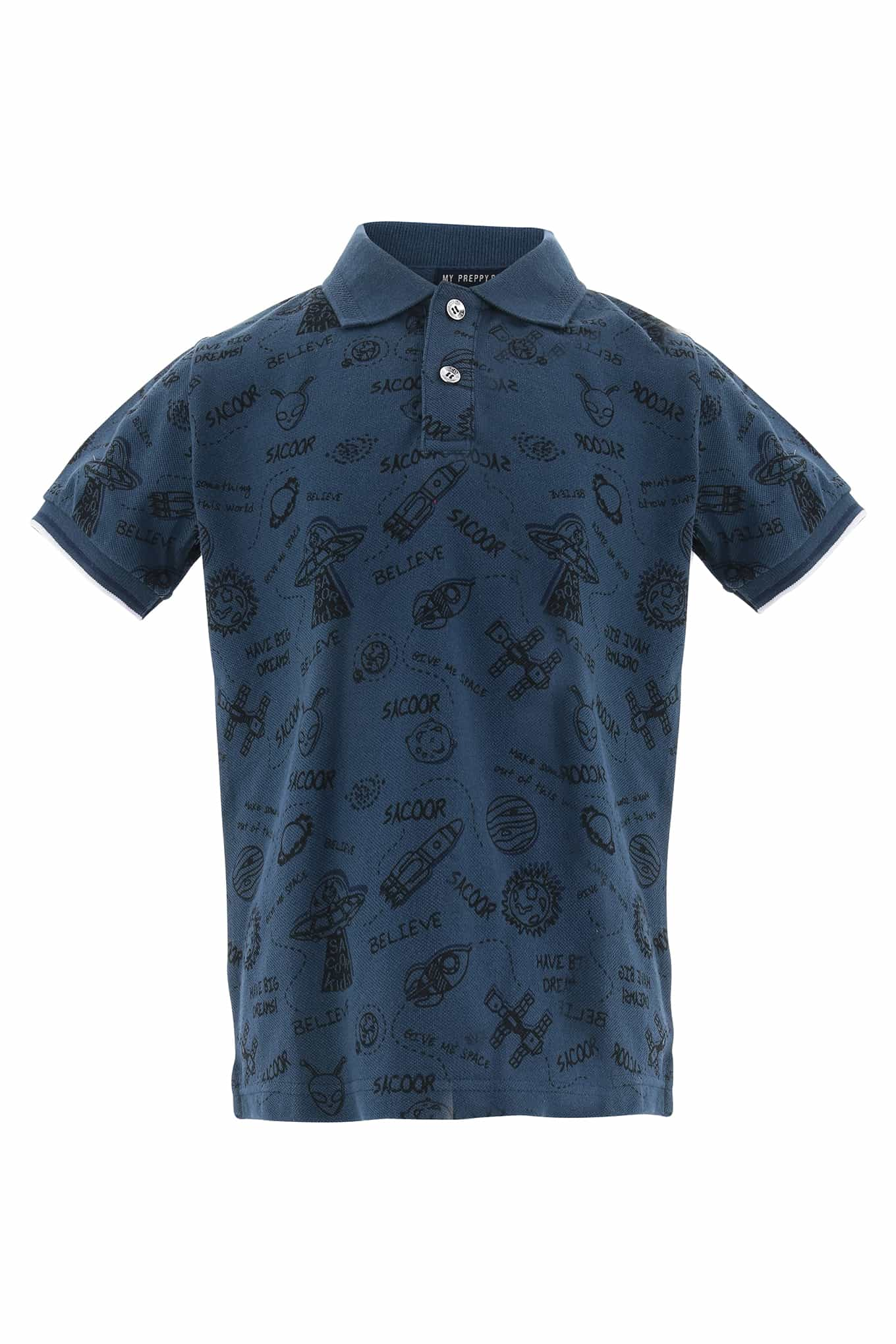 Polo Piquet Indigo Sport Boy