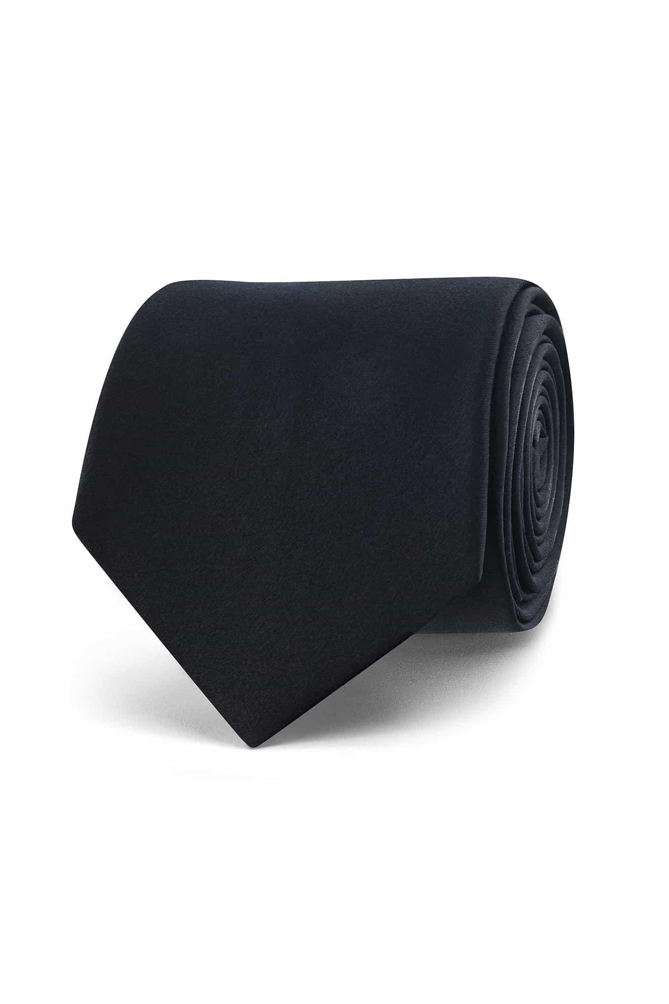 Tie Black Classic Man