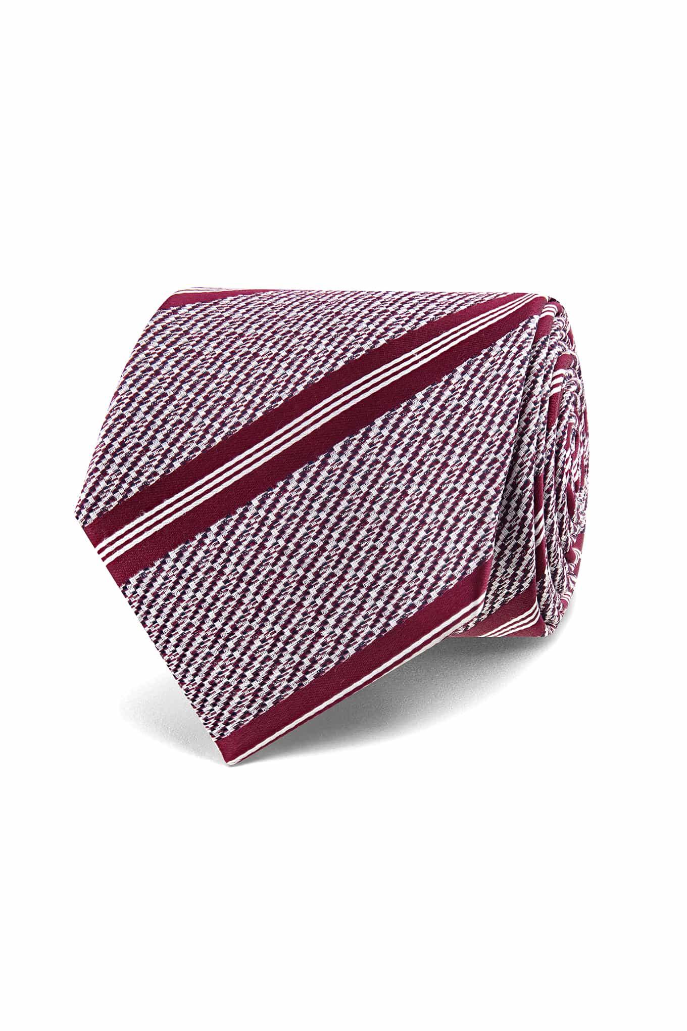 Tie Dark Red Classic Man