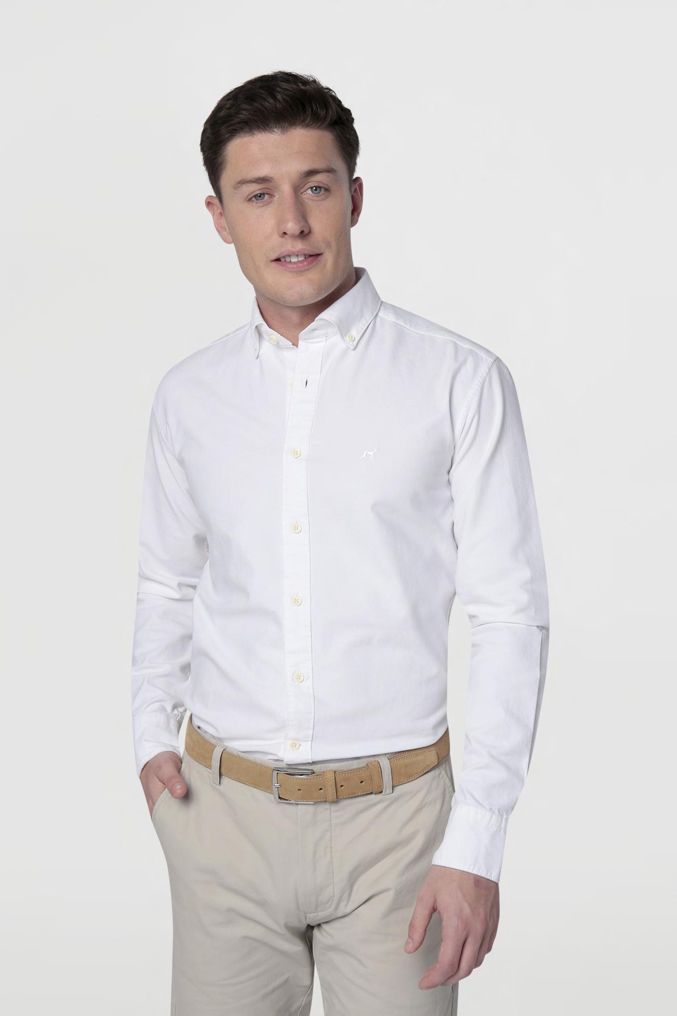 Shirt White Sport Man