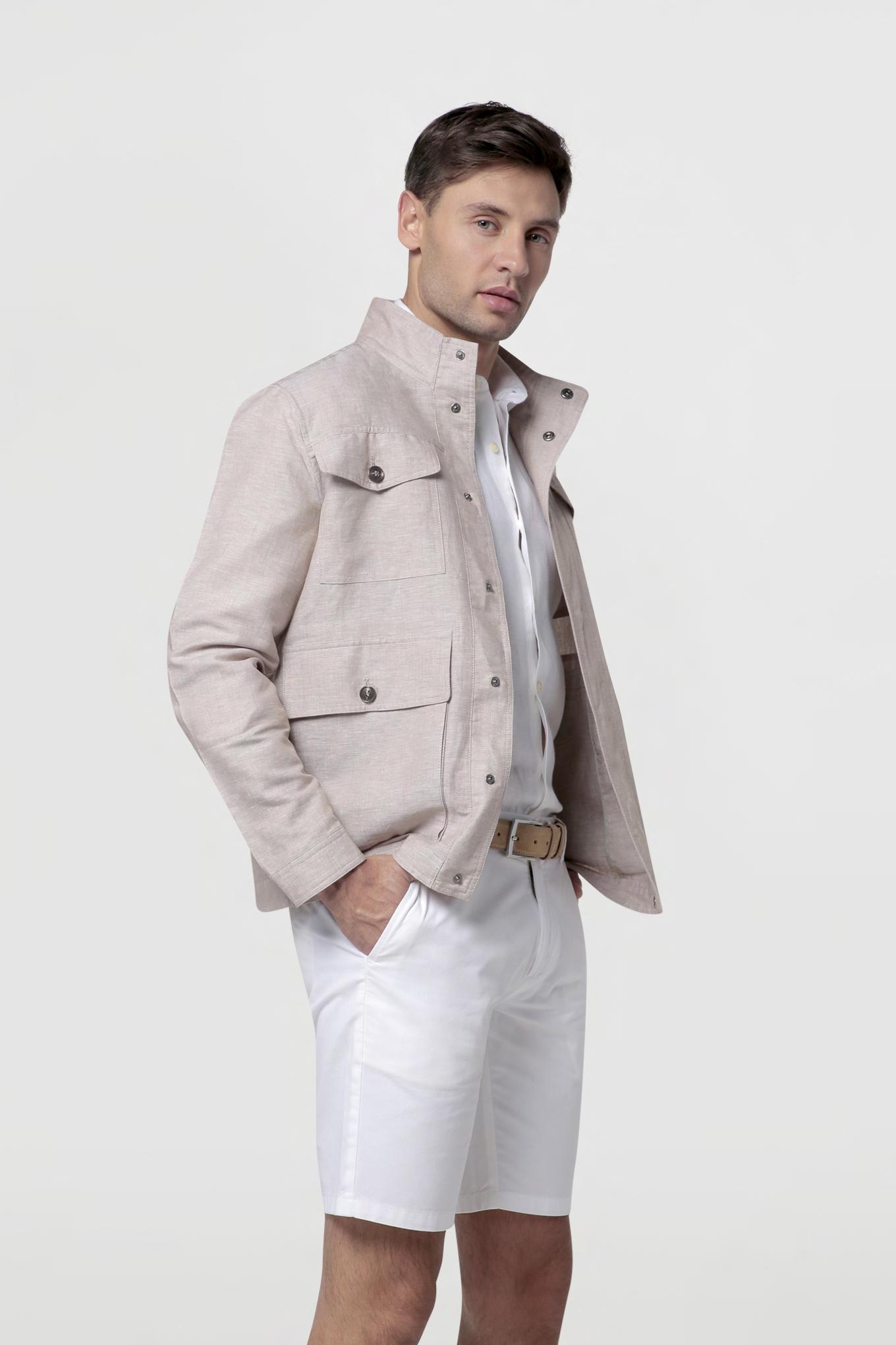 Bermuda White Casual Man
