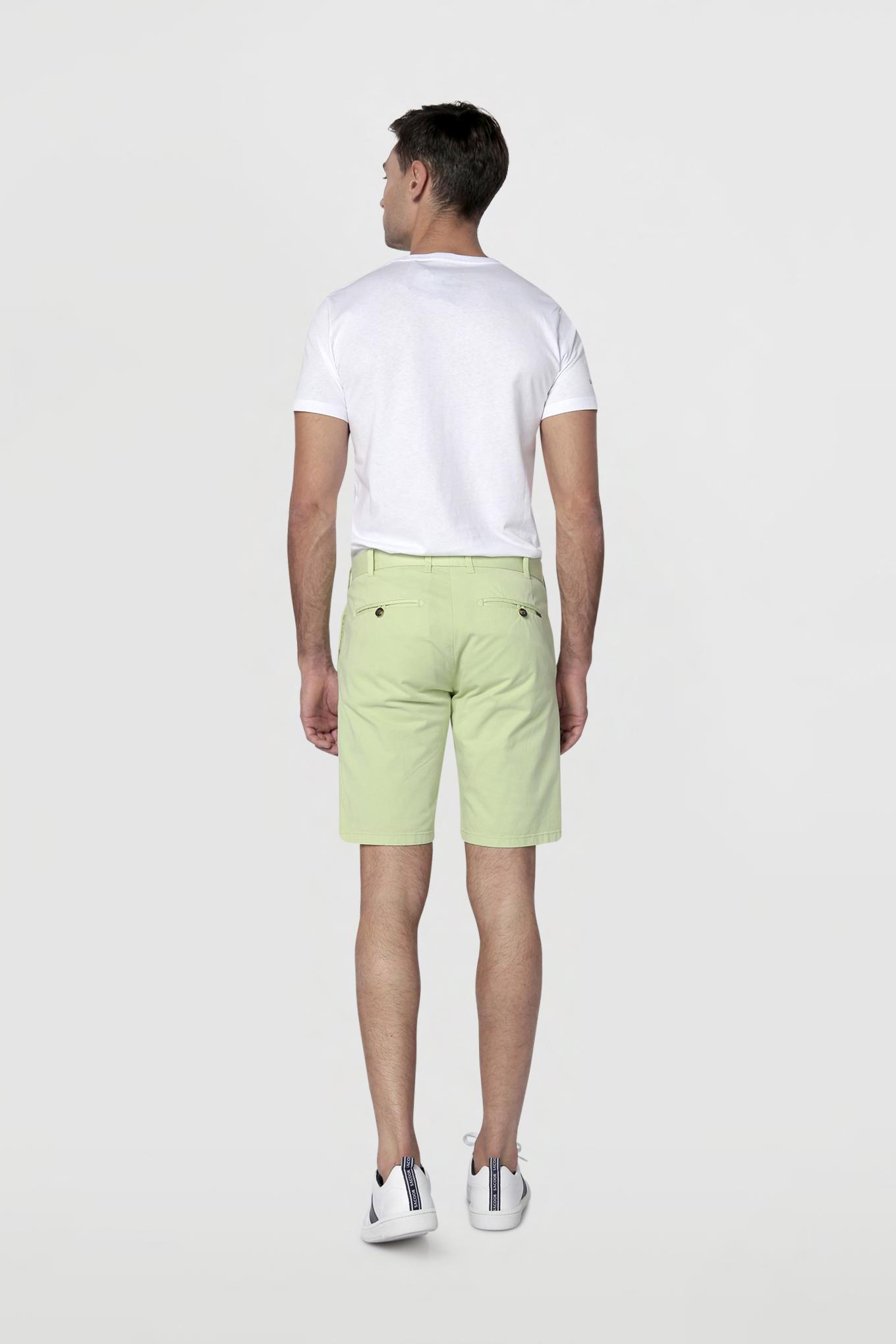 Bermuda Light Green Casual Man