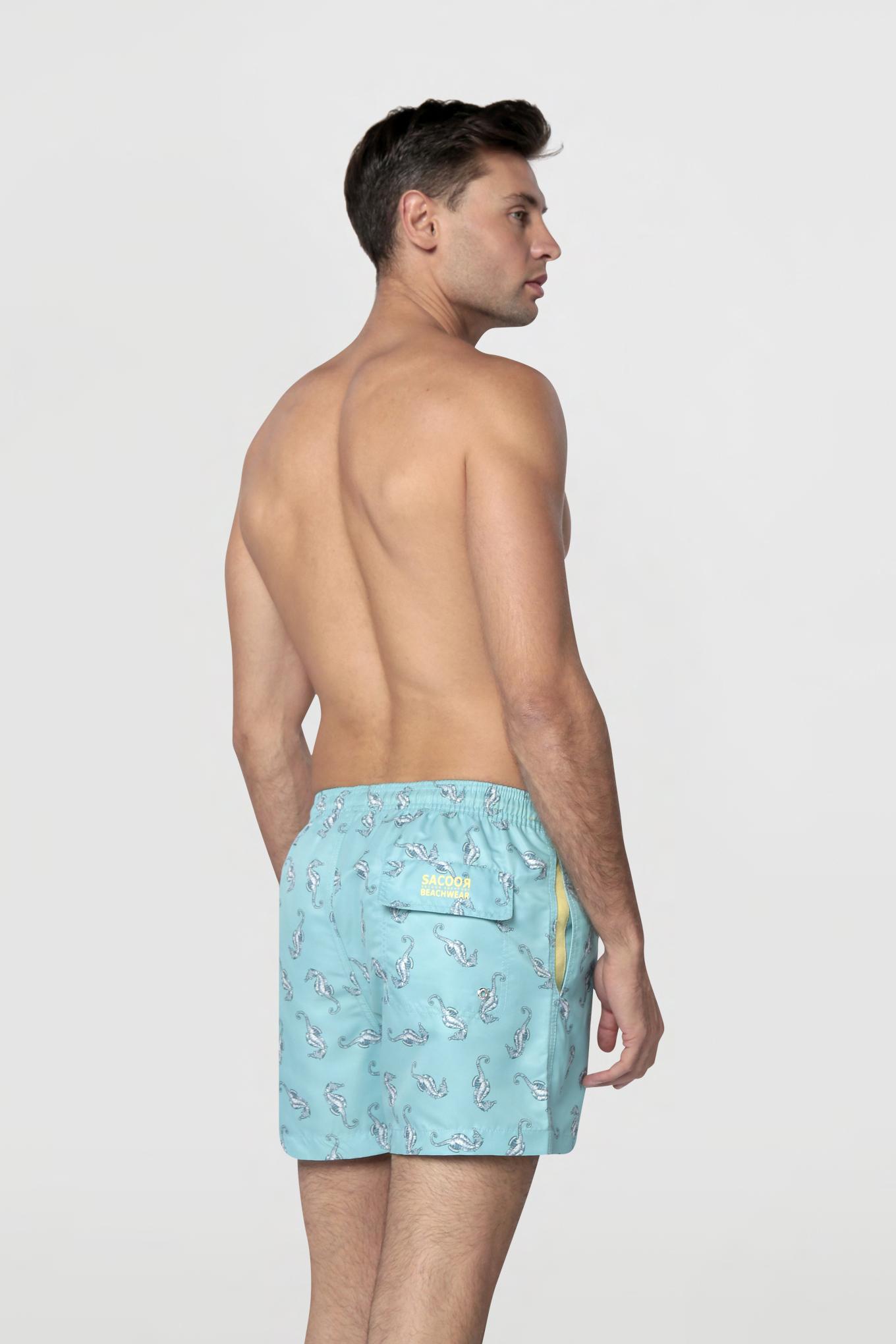 Beachwear Shorts Aqua Sport Man