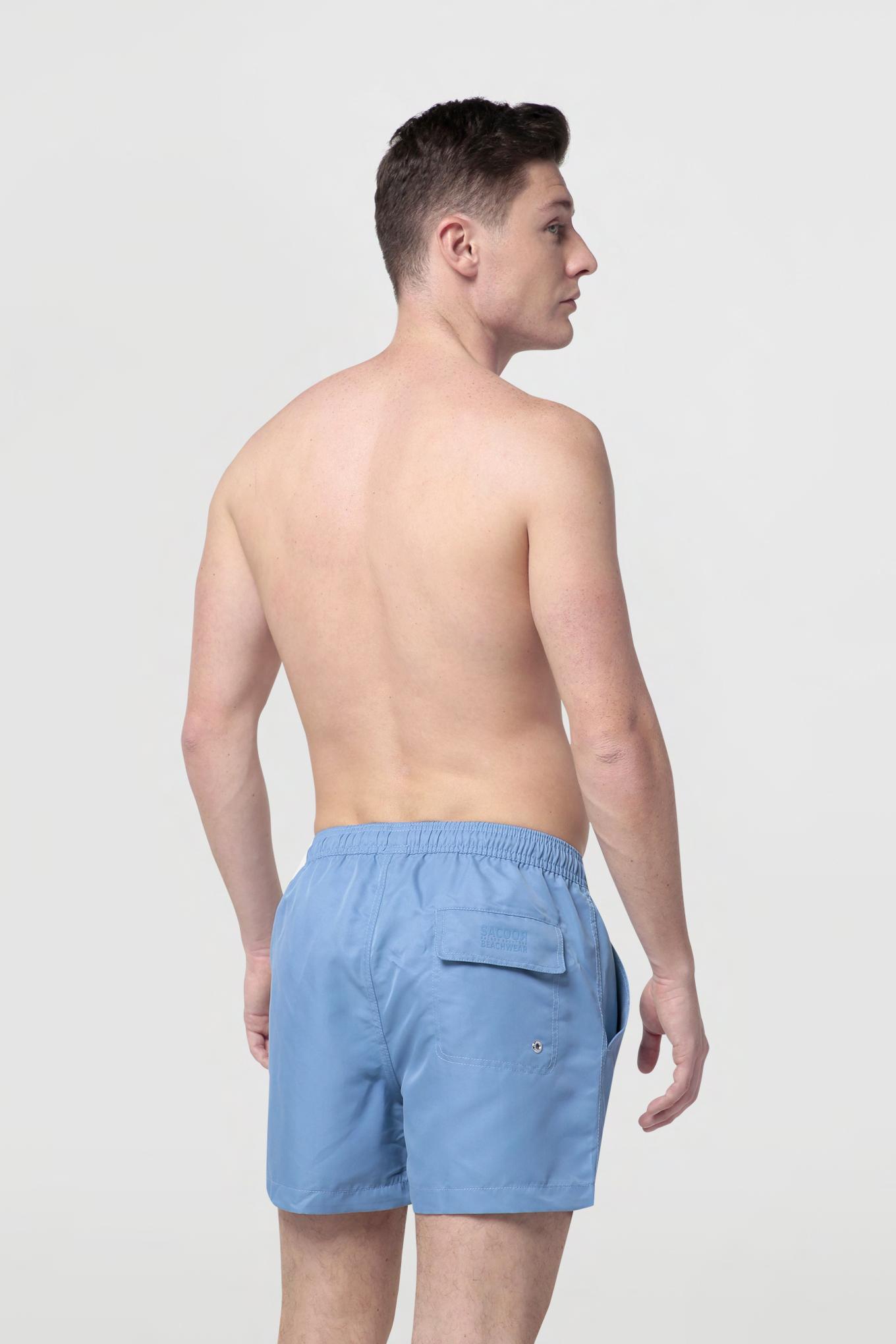 Beachwear Shorts Medium Blue Sport Man