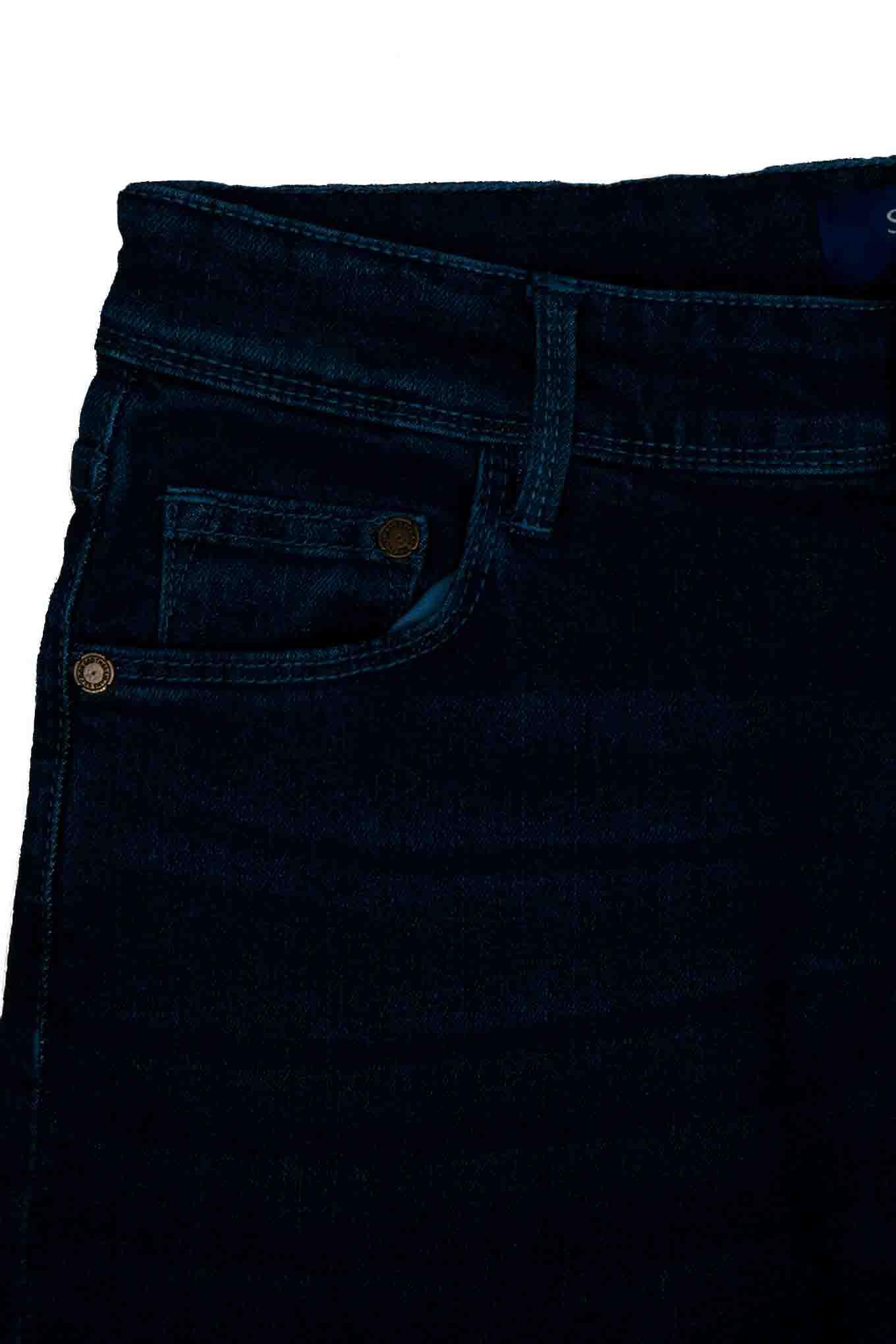 Calças Ganga Azul Médio Casual Homem