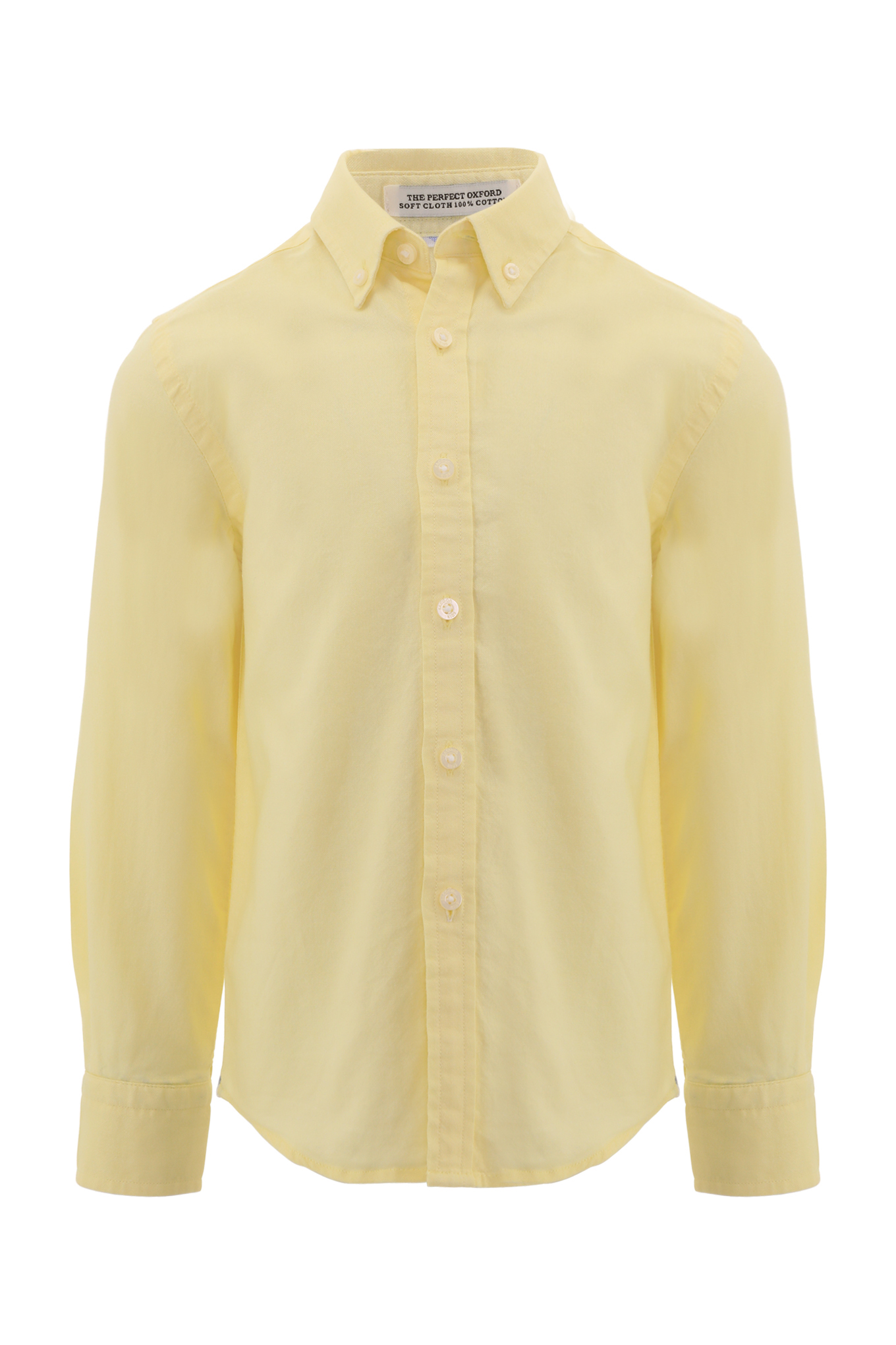 Shirt Light Yellow Casual Boy
