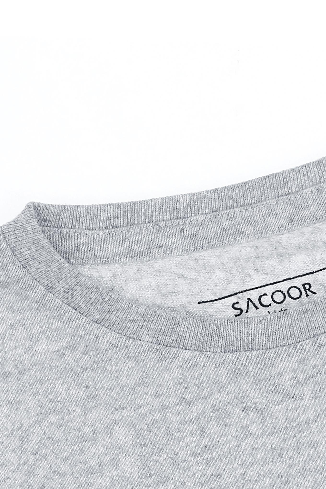 T-Shirt Light Grey Sport Boy