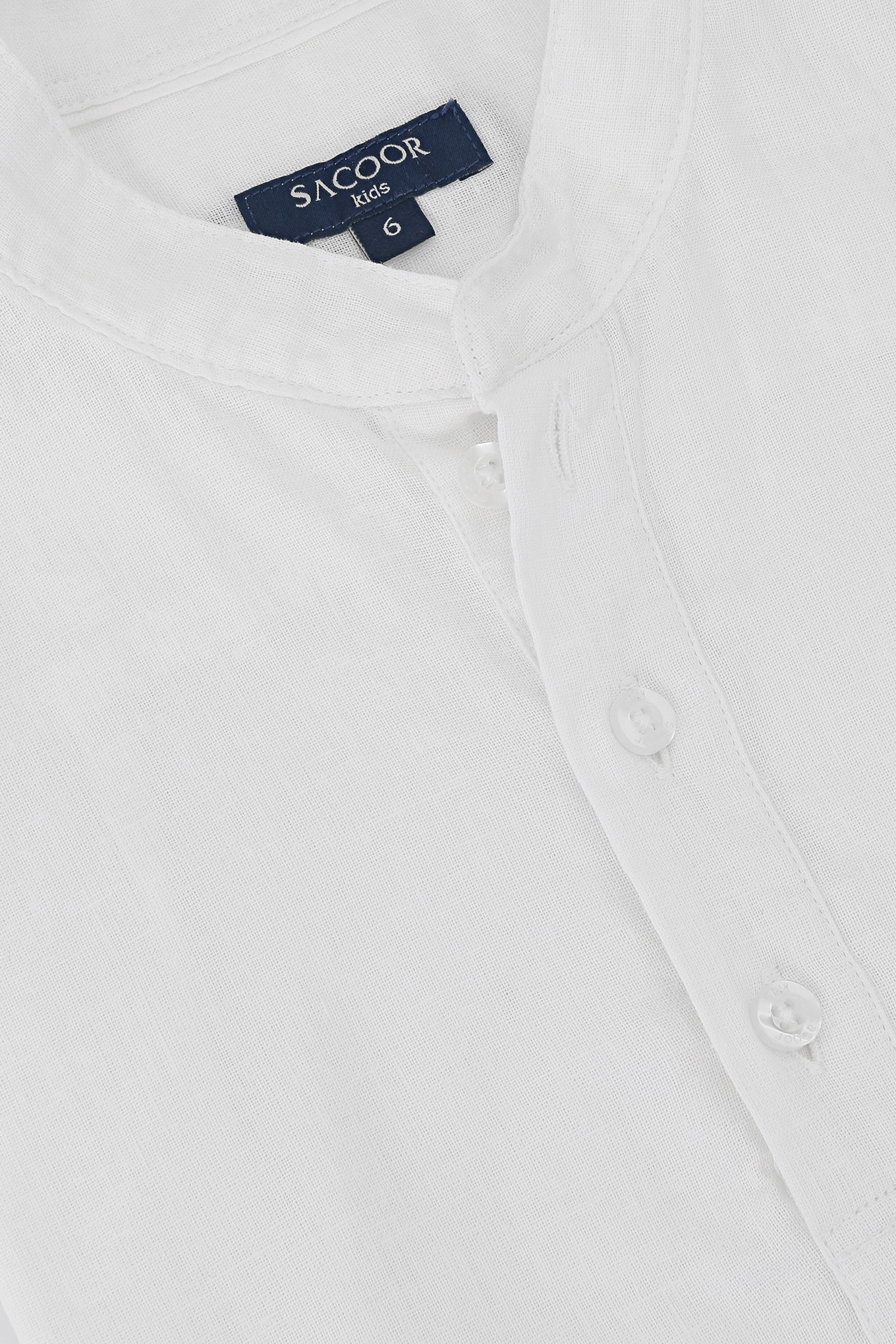Shirt White Casual Boy
