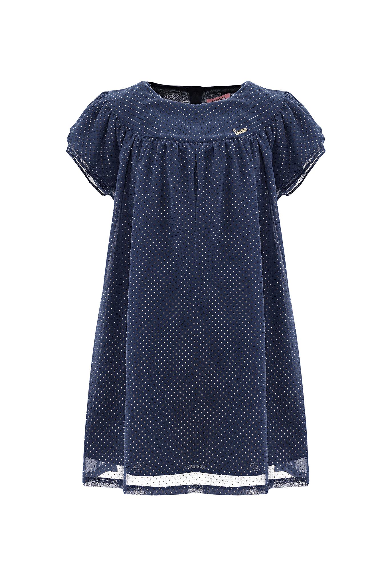 Dress Dark Blue Casual Girl