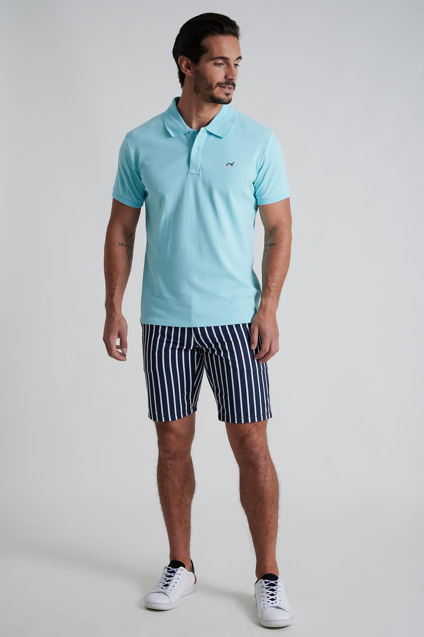 Bermuda Dark Blue Casual Man