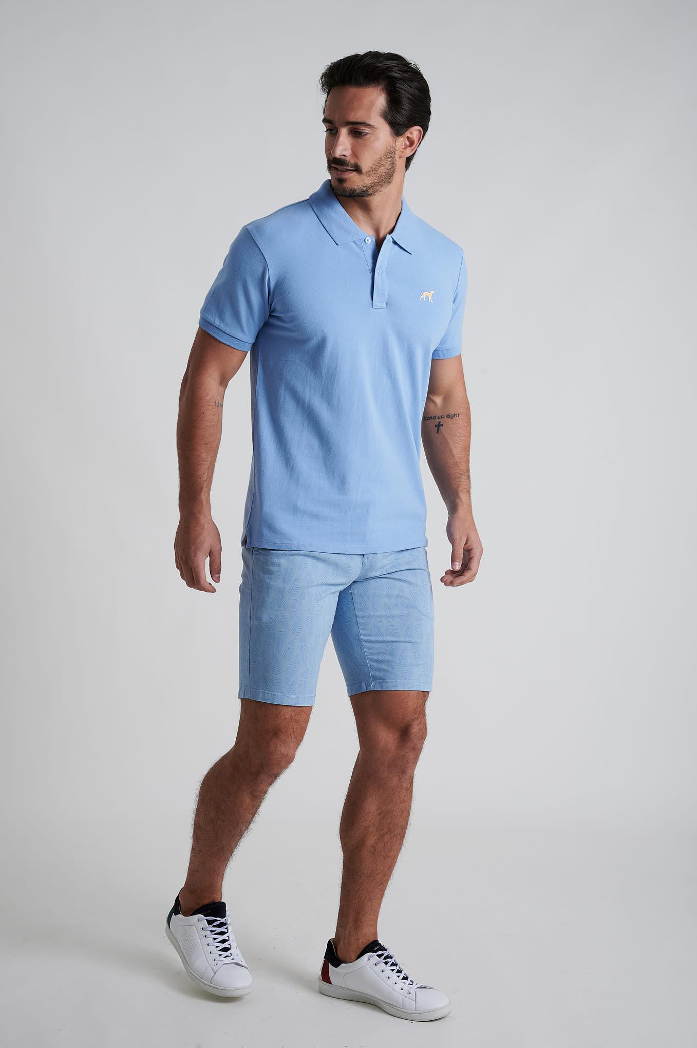 Bermuda Blue Casual Man