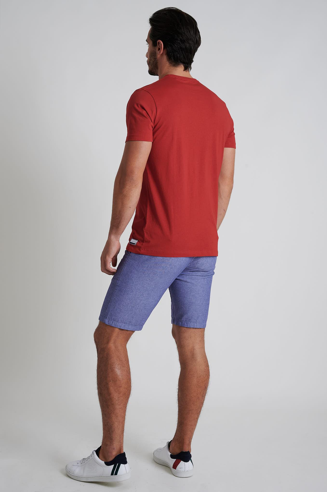 T-Shirt Vermelho Sport Homem