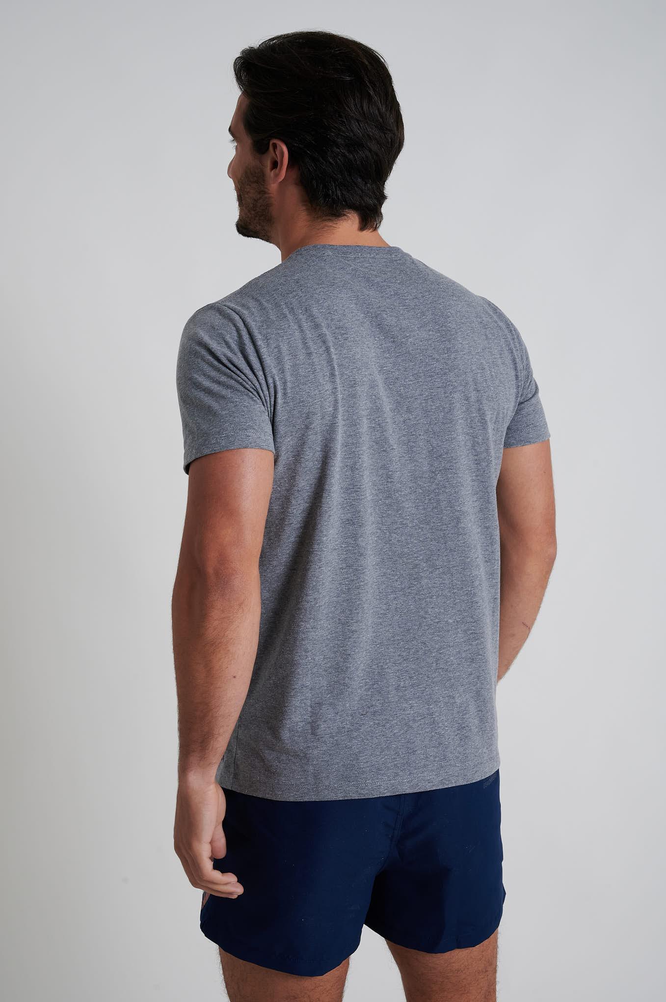 T-Shirt Dark Grey Sport Man