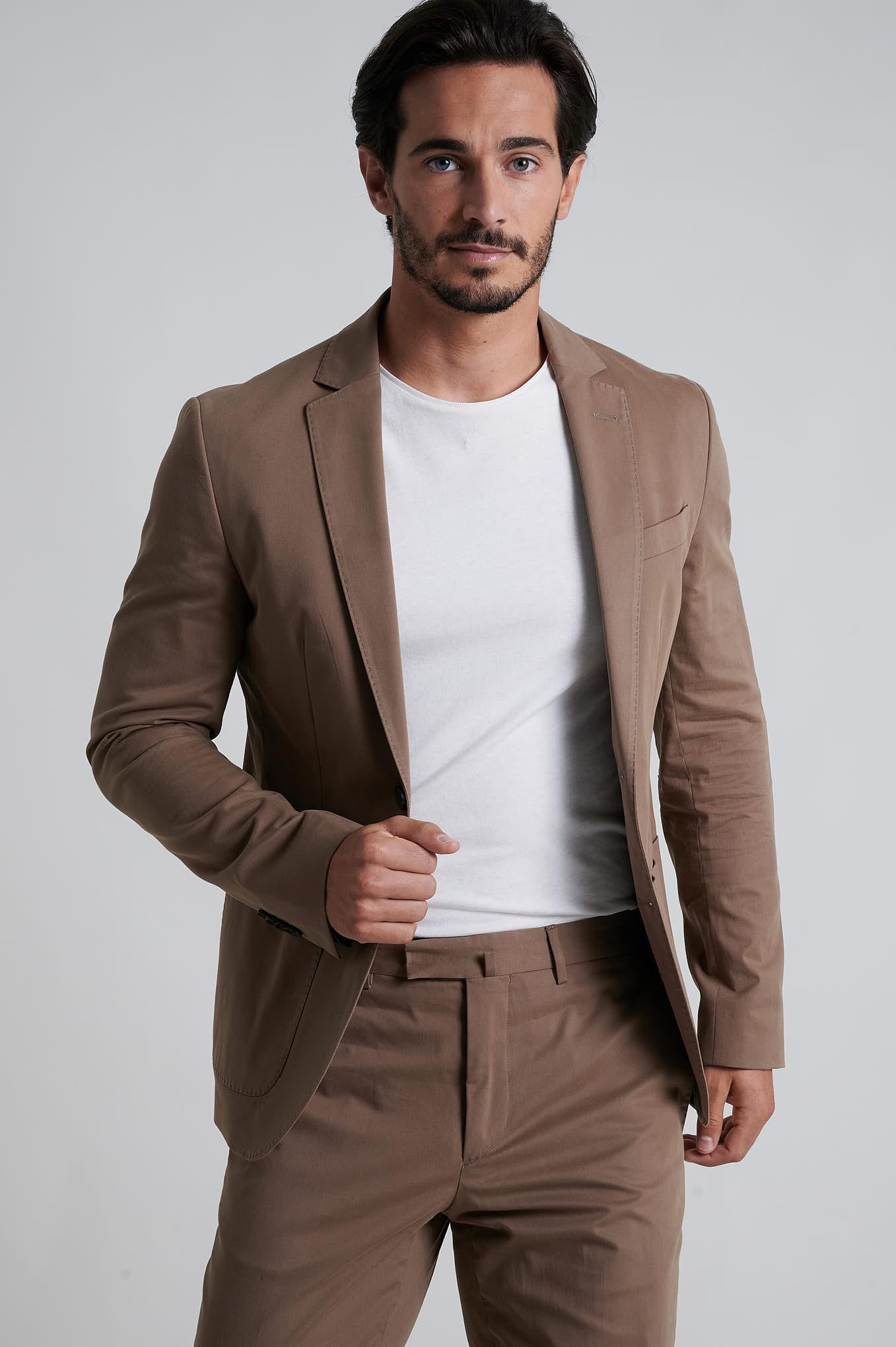 Suit Camel Formal Man