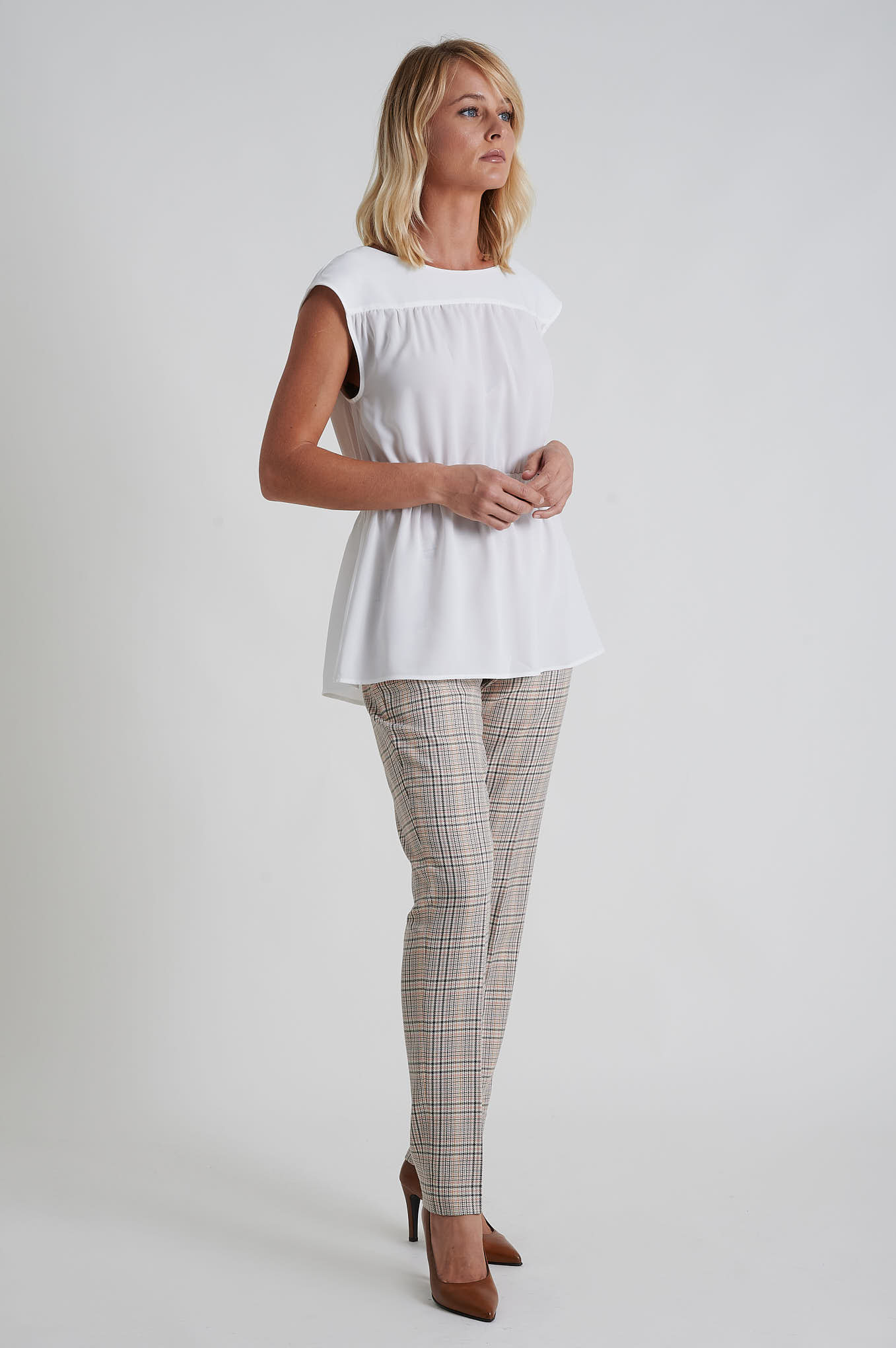 Trousers Light Pink Formal Woman