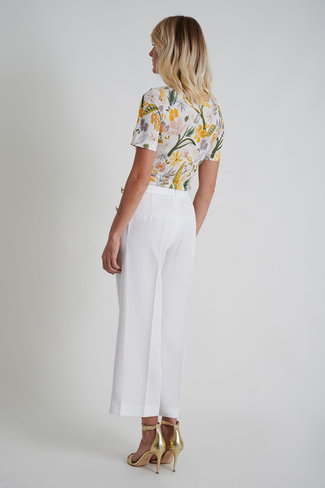 Trousers White Fantasy Woman