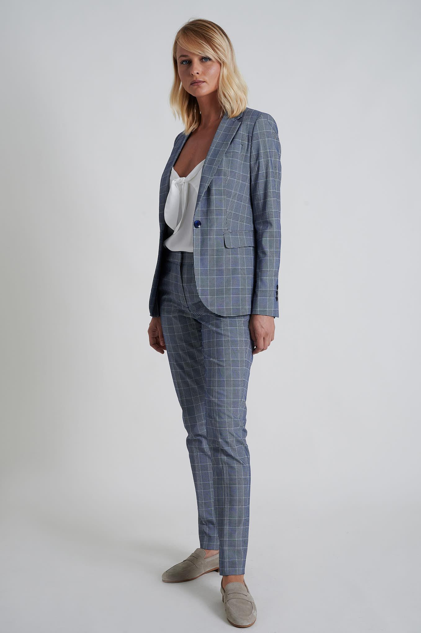 Suit Dark Blue Formal Woman