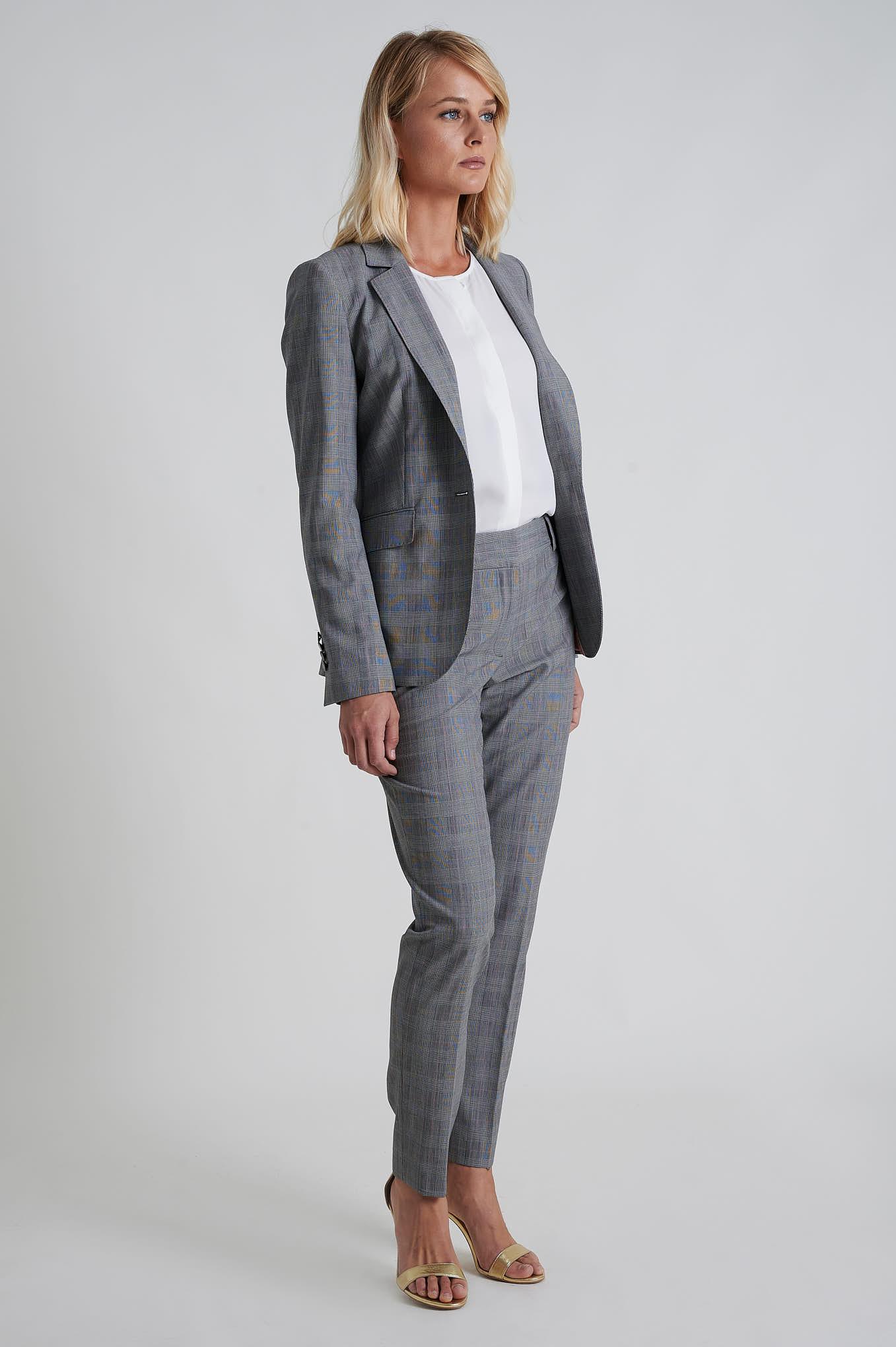 Suit Grey Formal Woman