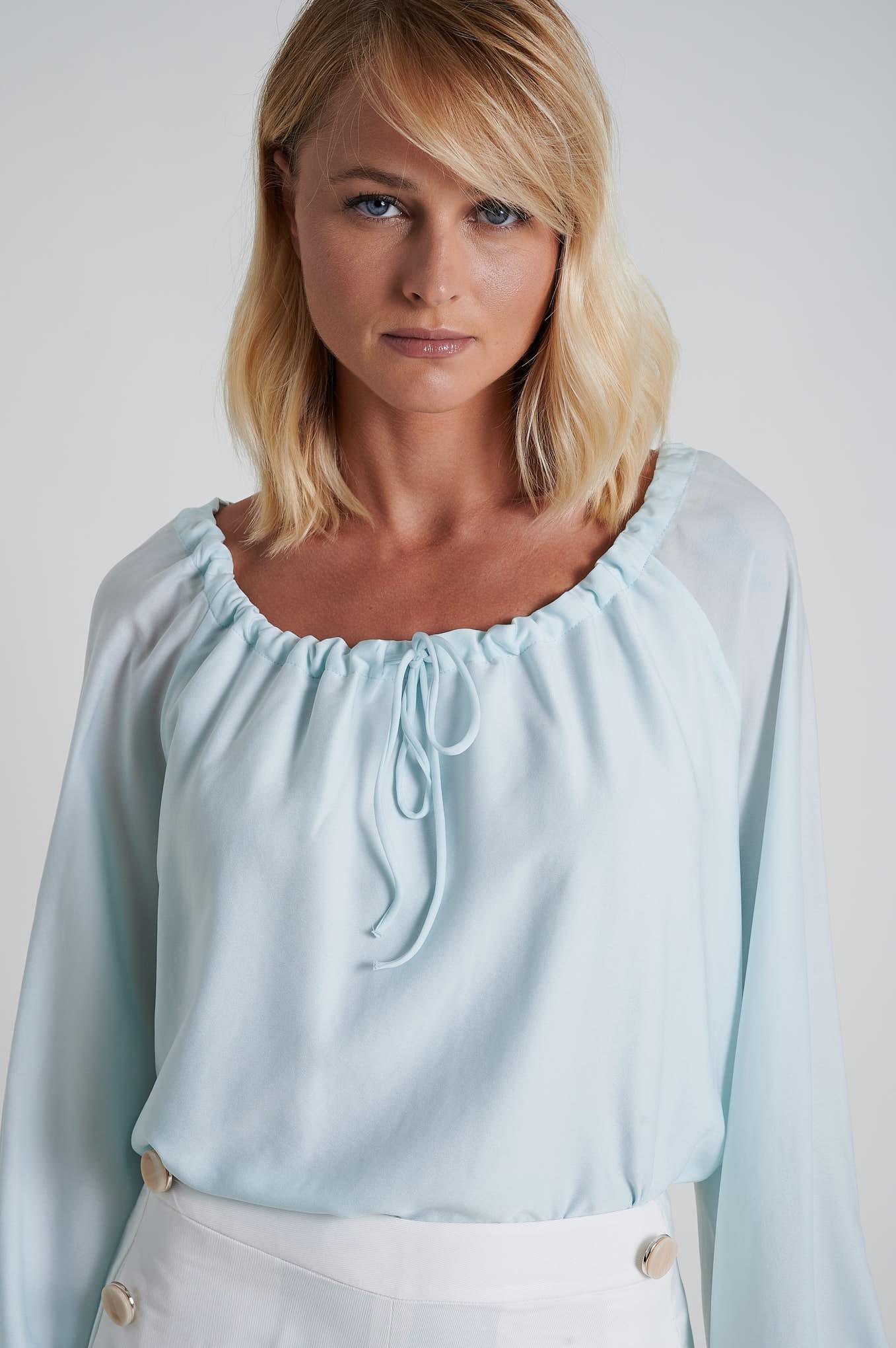 Blouse Turquoise Fantasy Woman