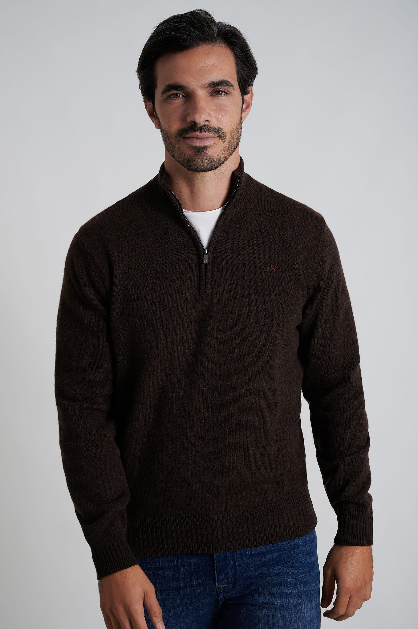 Sweater Chocolate Casual Man