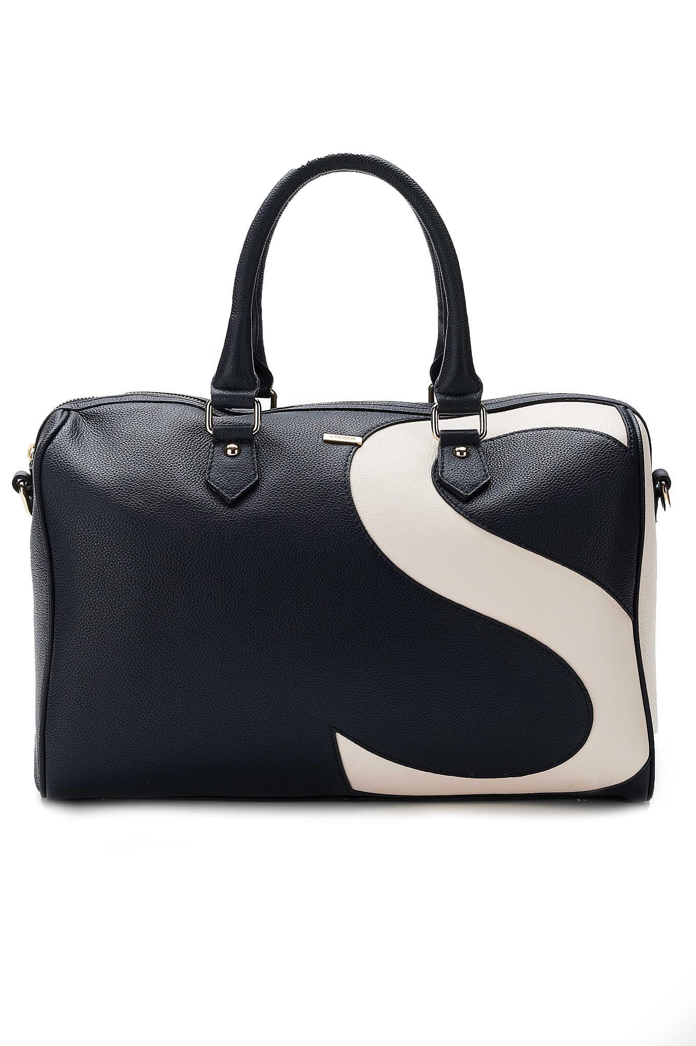 Bag Dark Blue Casual Woman