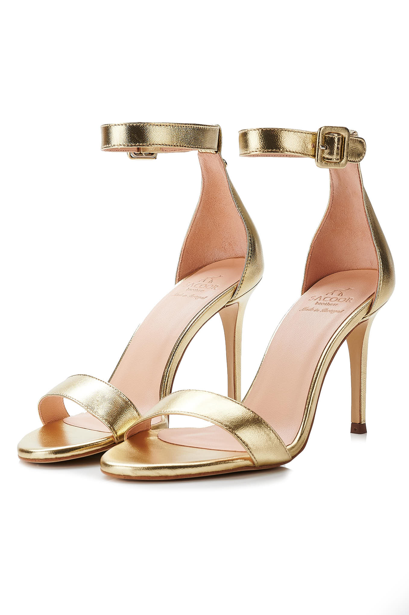 Sandals Gold Formal Woman