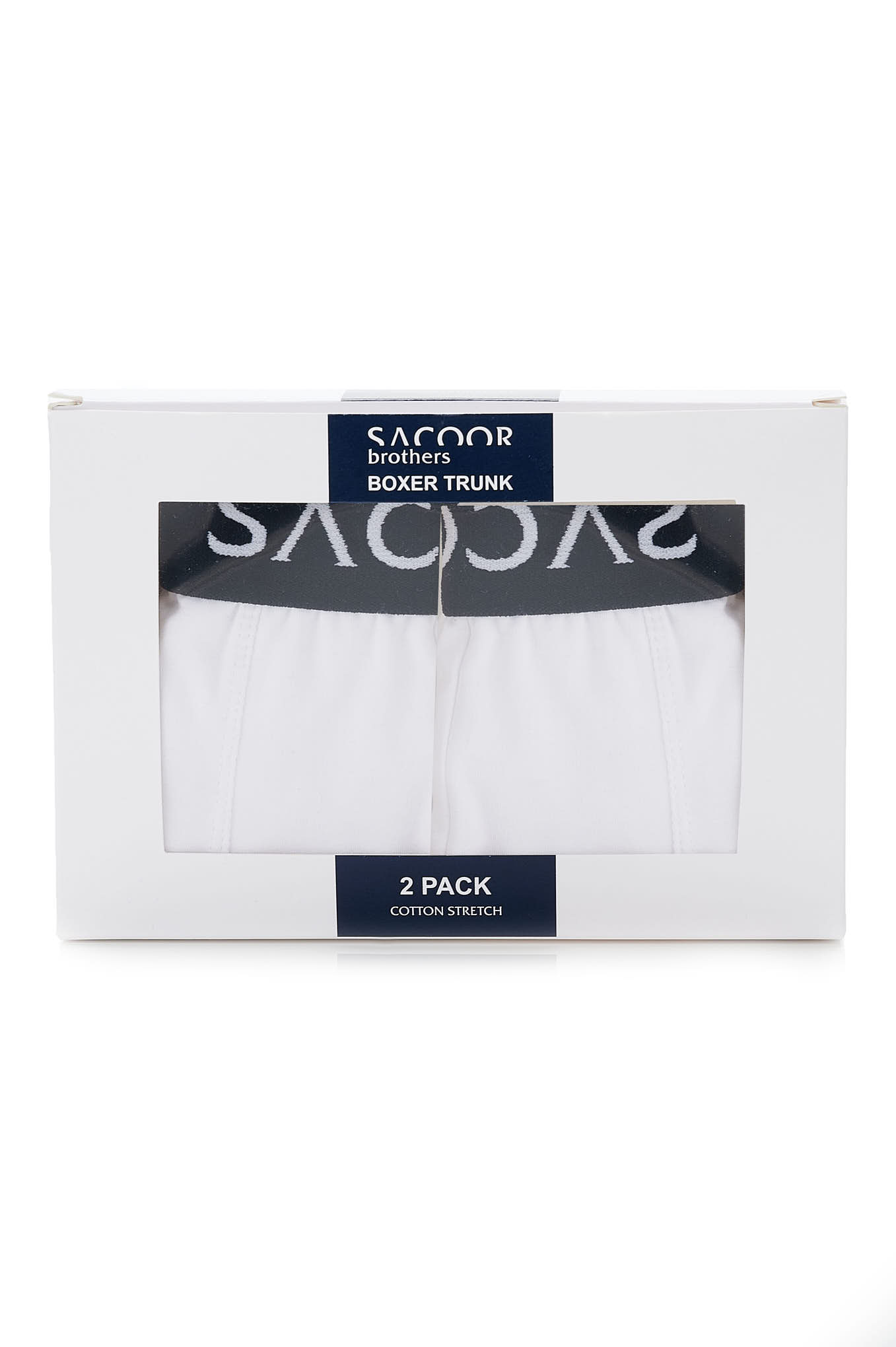 Underwear White Casual Man