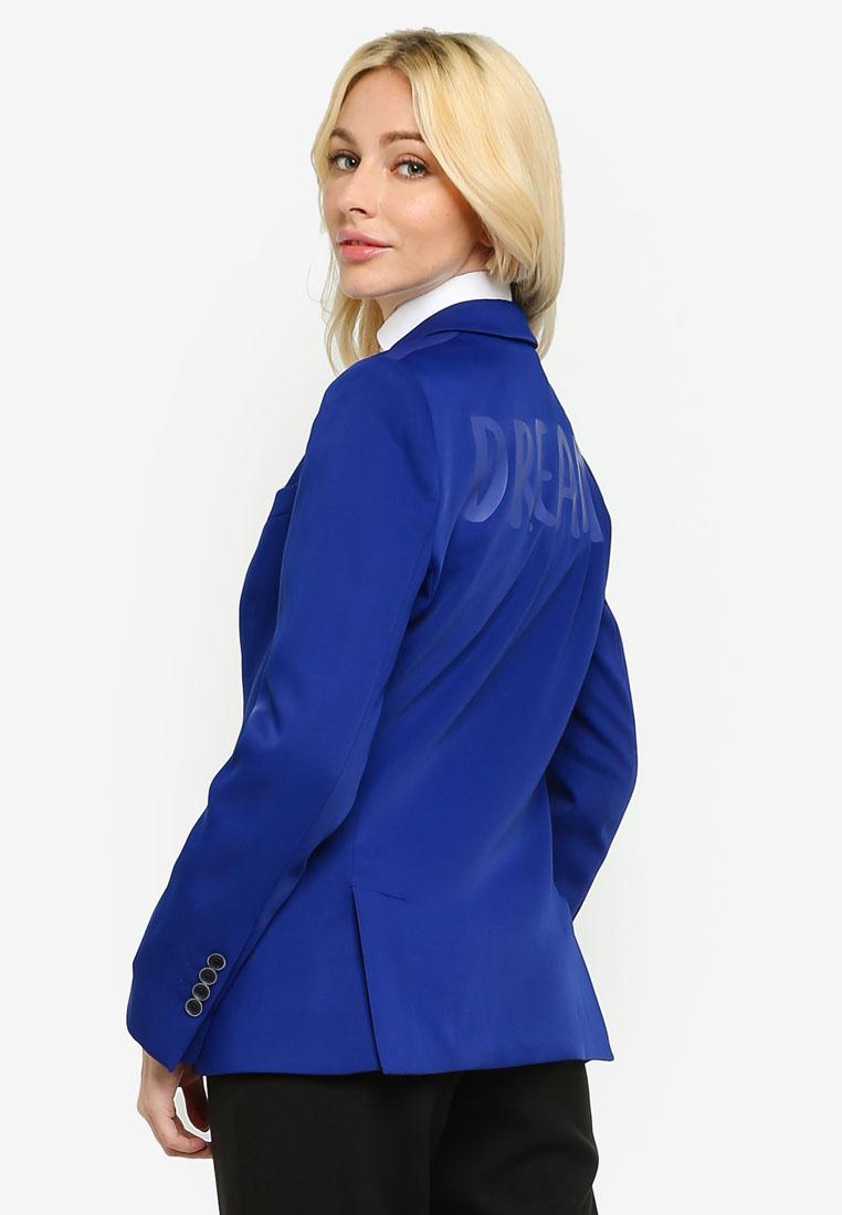 Blazer Royal Blue Formal Woman