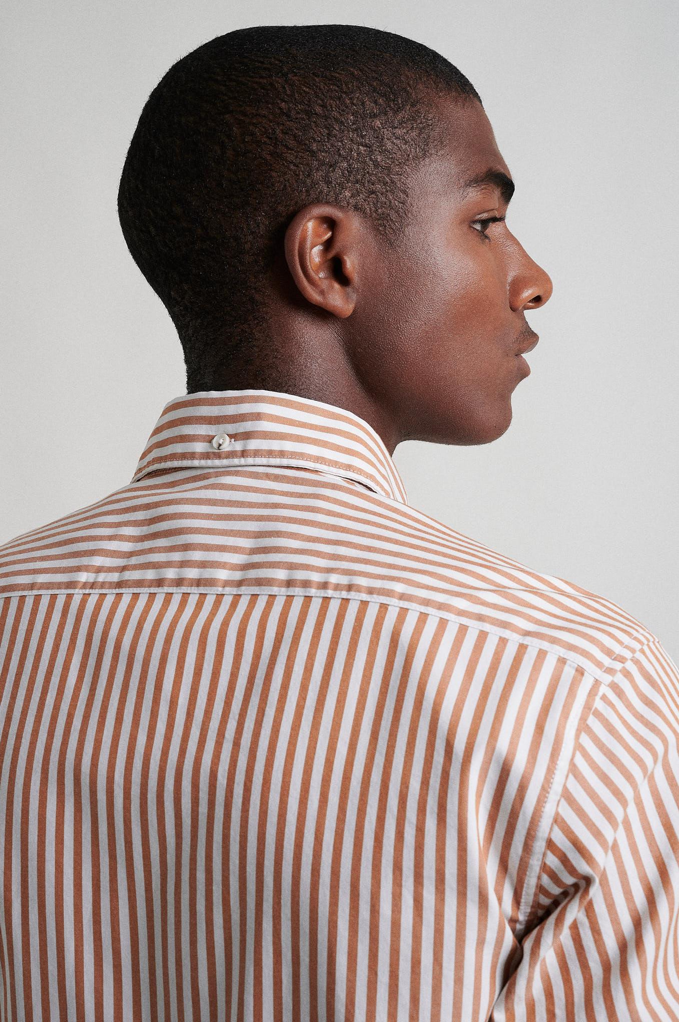Shirt Cognac Sport Man