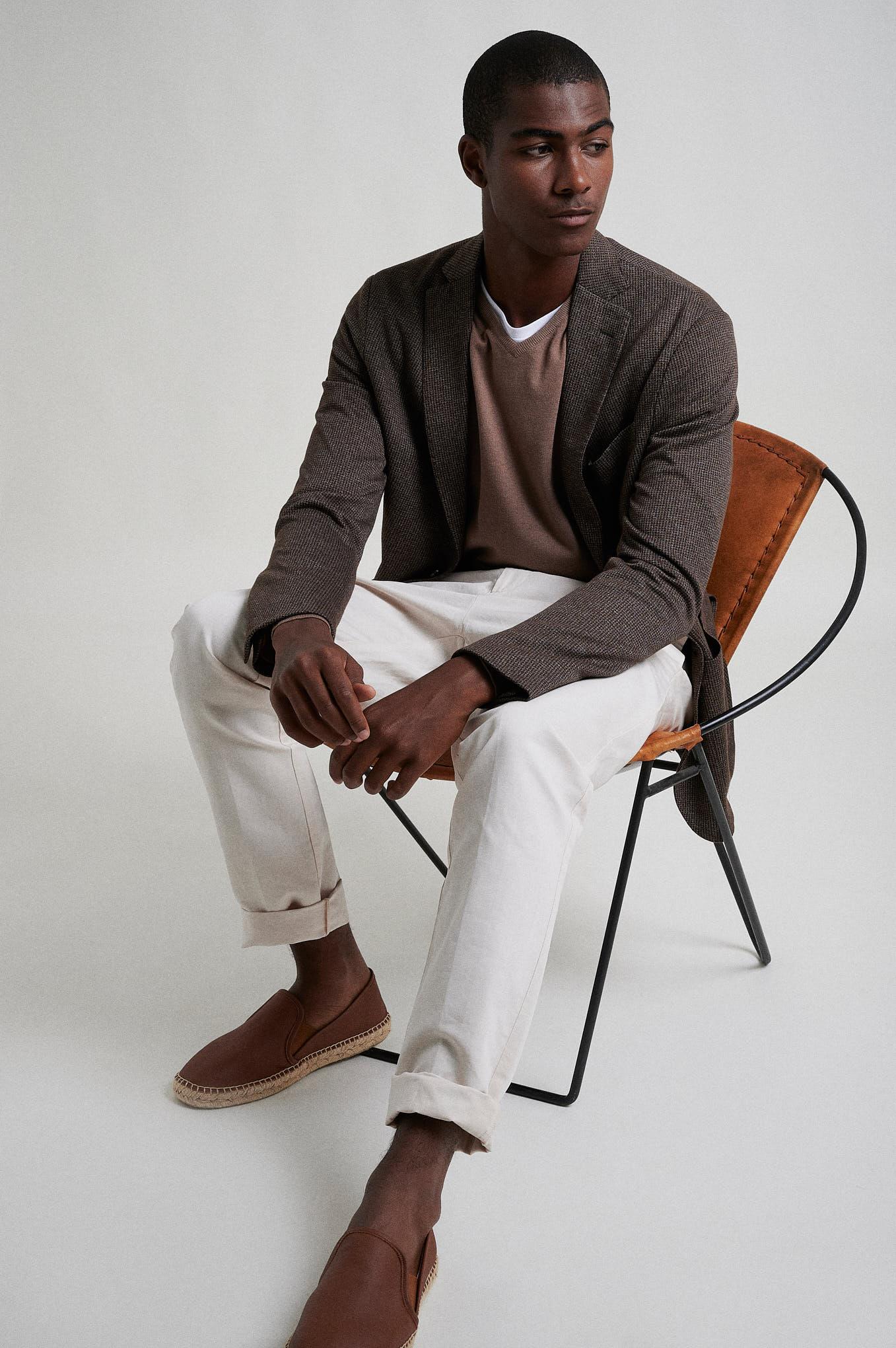 Blazer Brown Formal Man