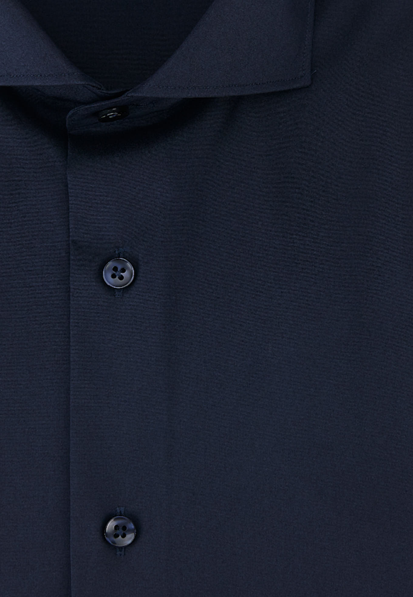 Shirt Dark Blue Formal Man