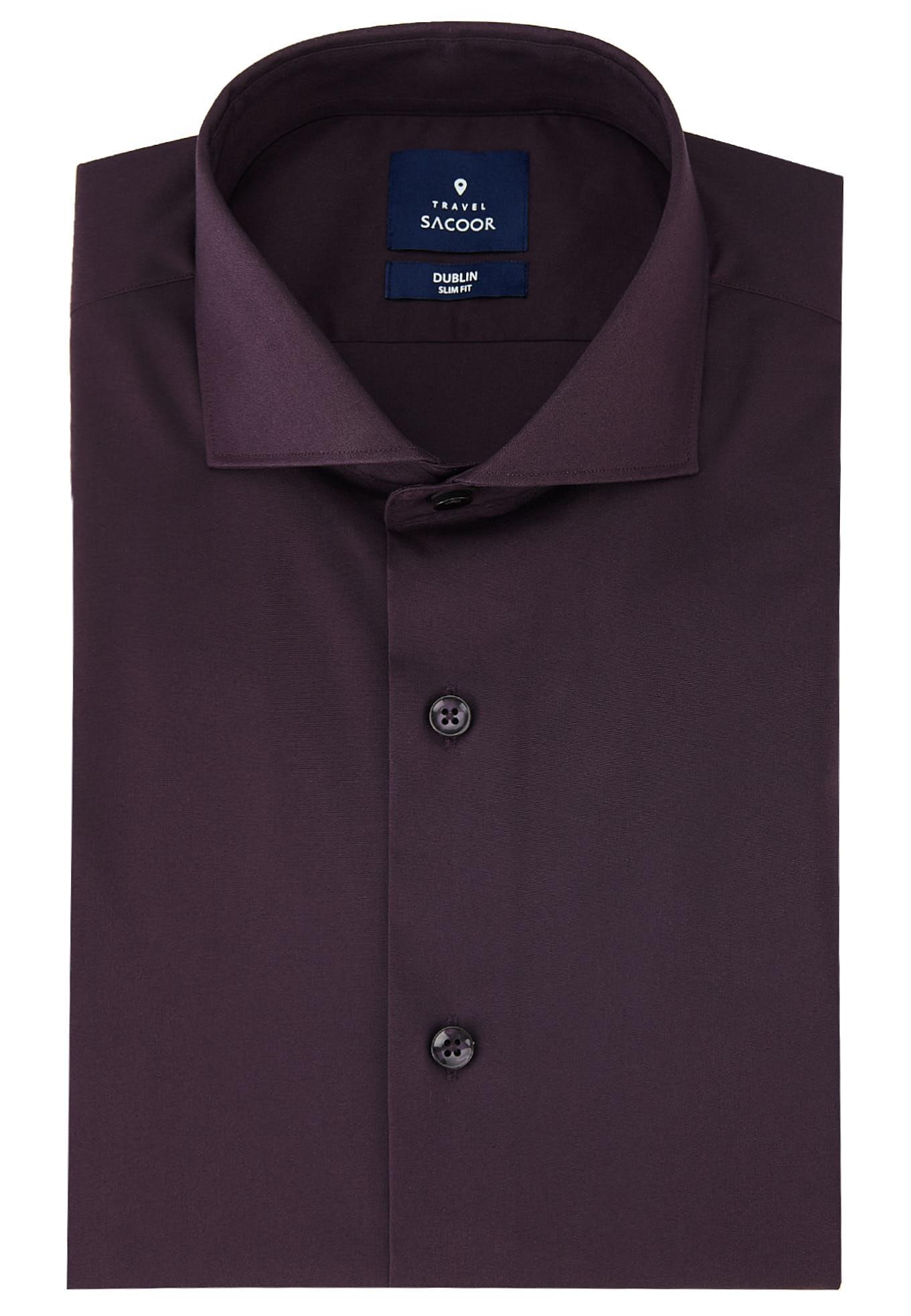 Shirt Plum Formal Man
