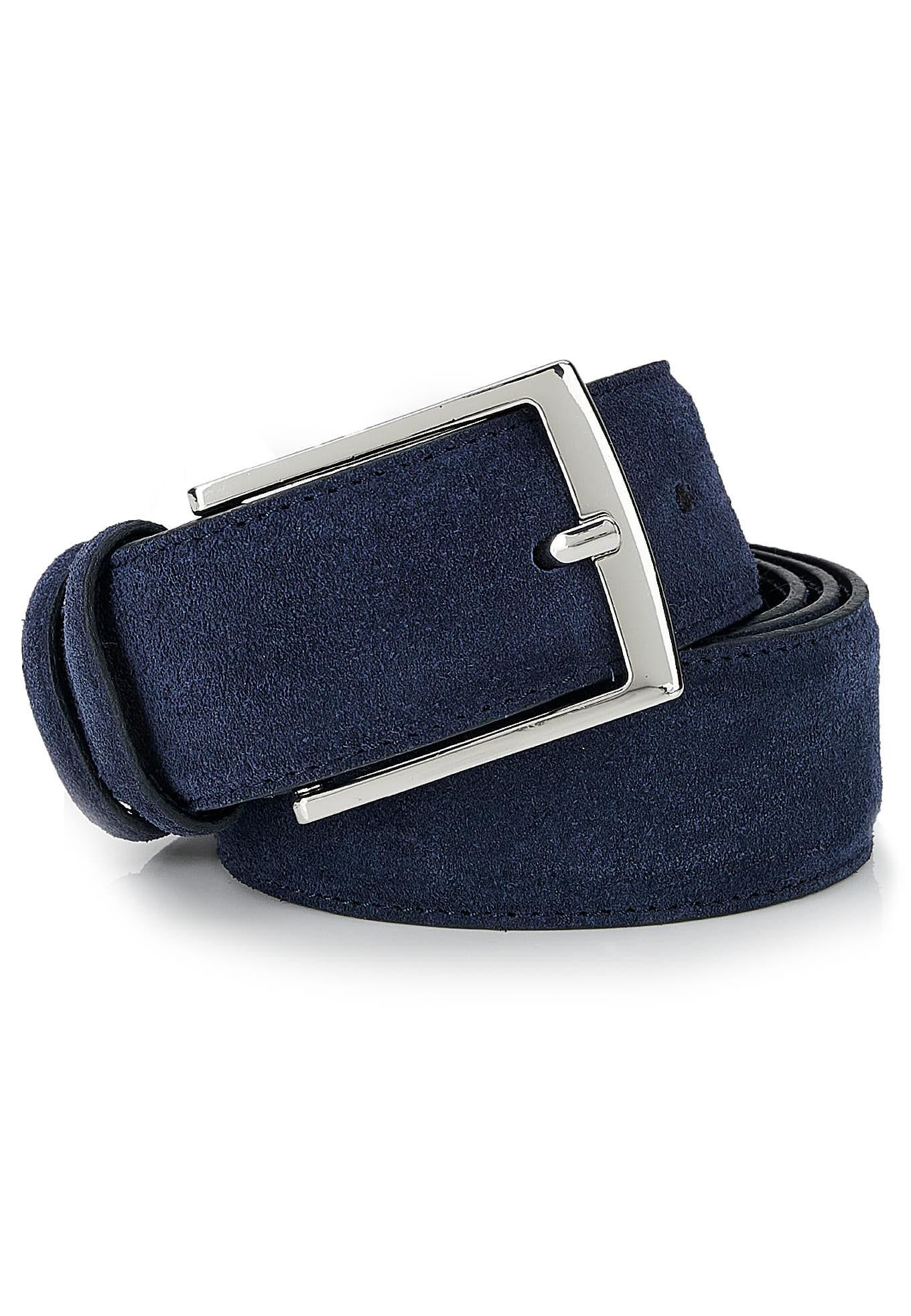 Belt Dark Blue Casual Man