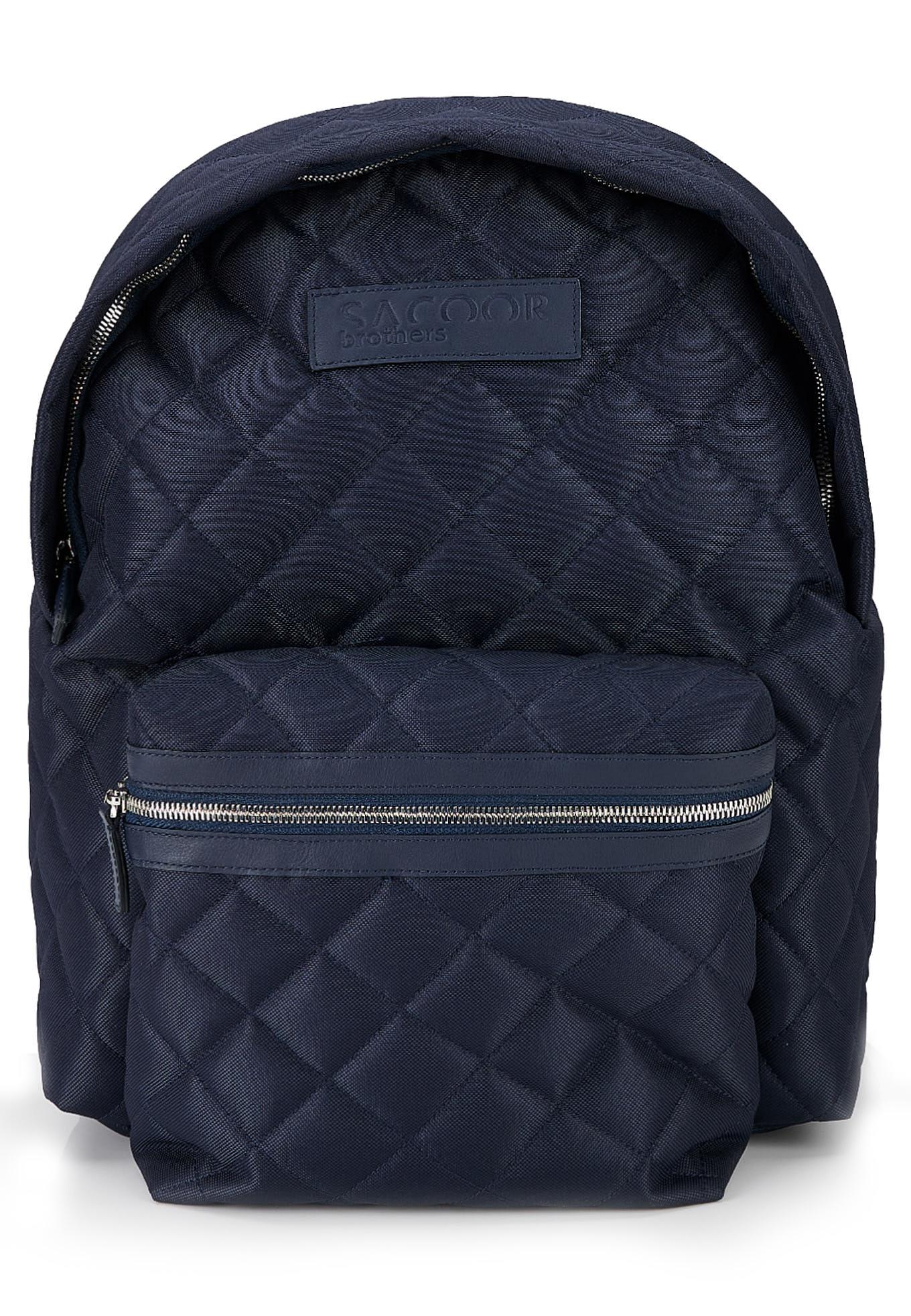 Backpack Dark Blue Casual Man