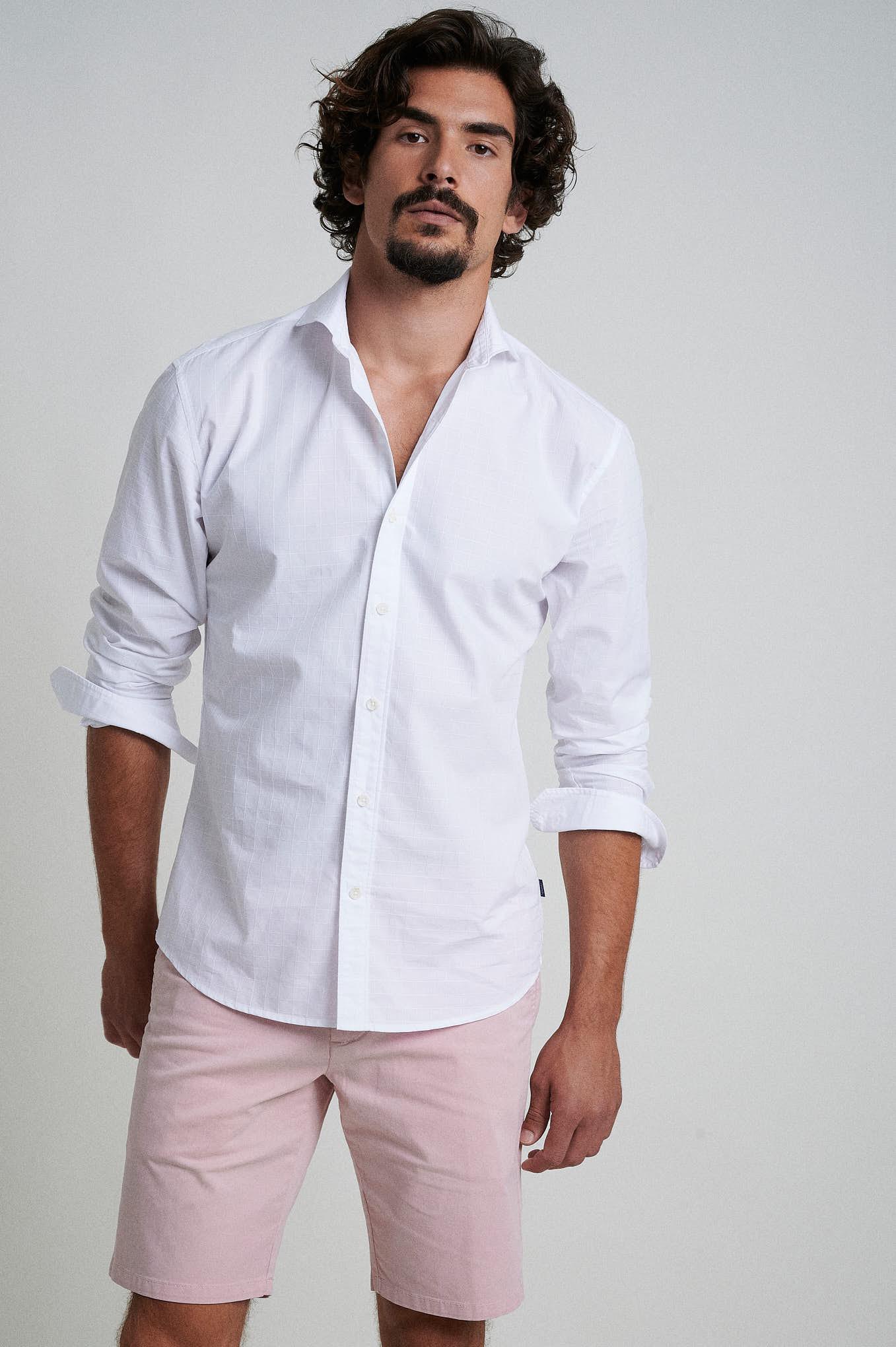 Bermuda Pale Pink Sport Man