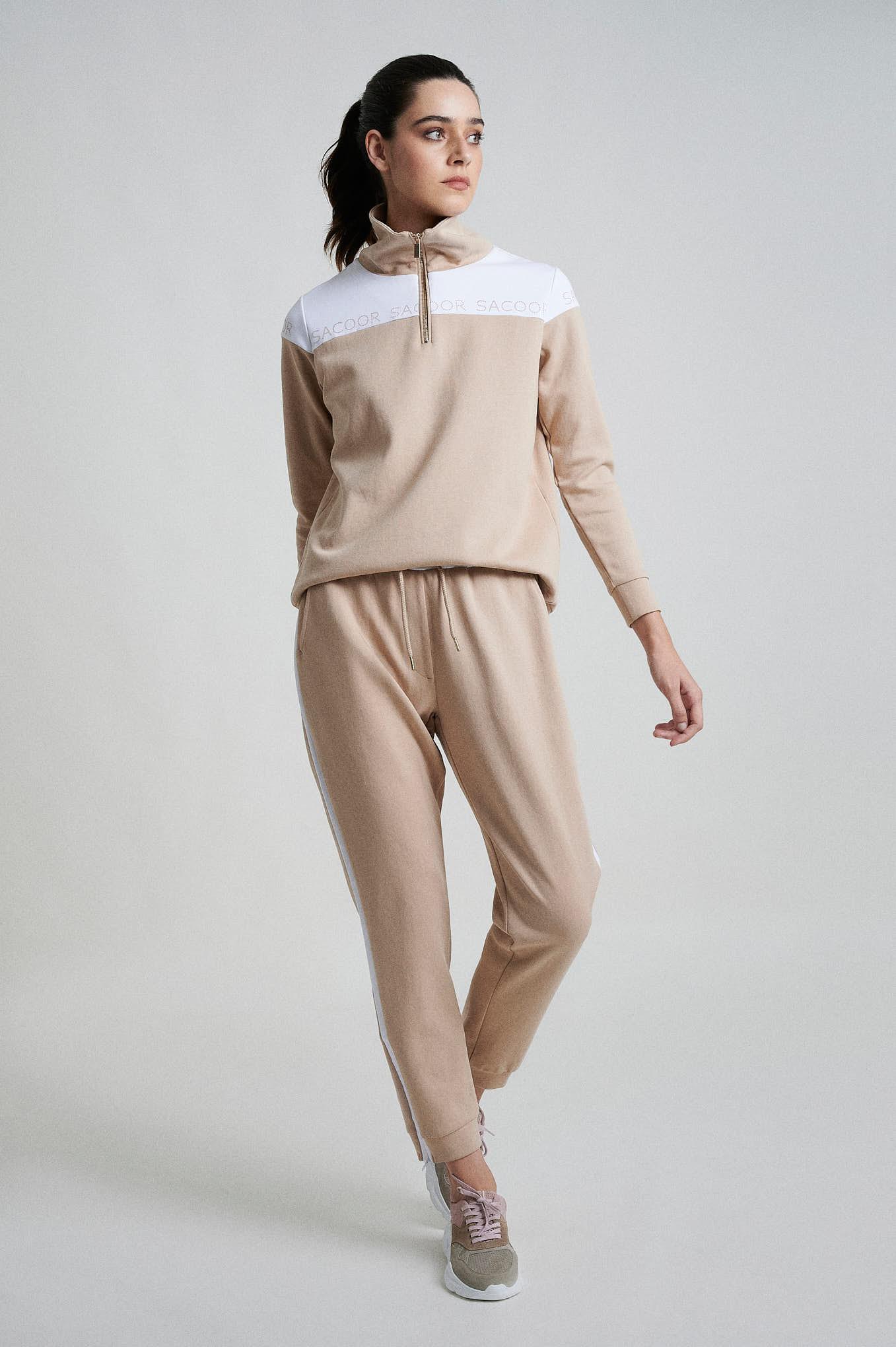 Sportswear Trousers Beige Sport Woman