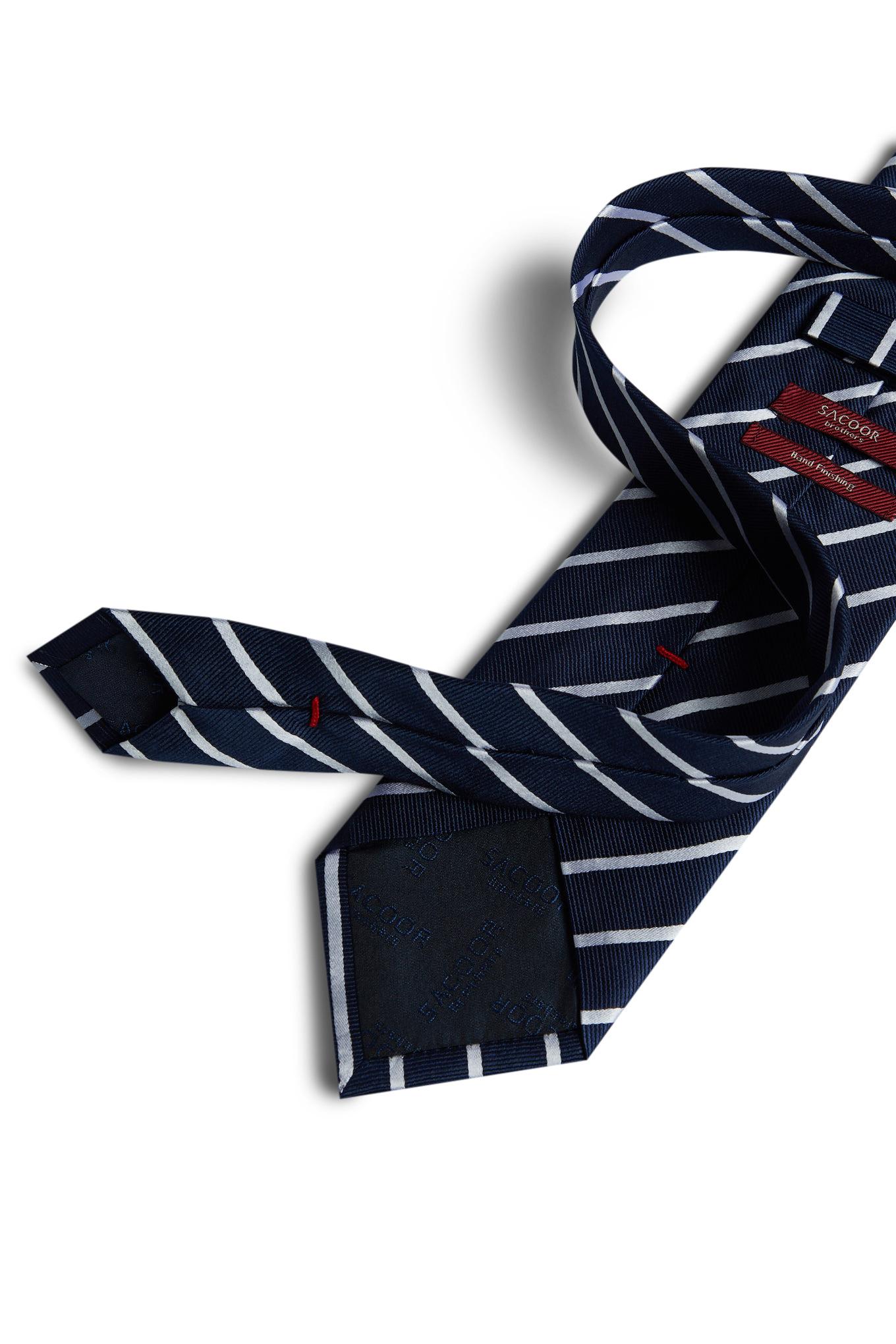 Gravata Azul Escuro Formal Homem