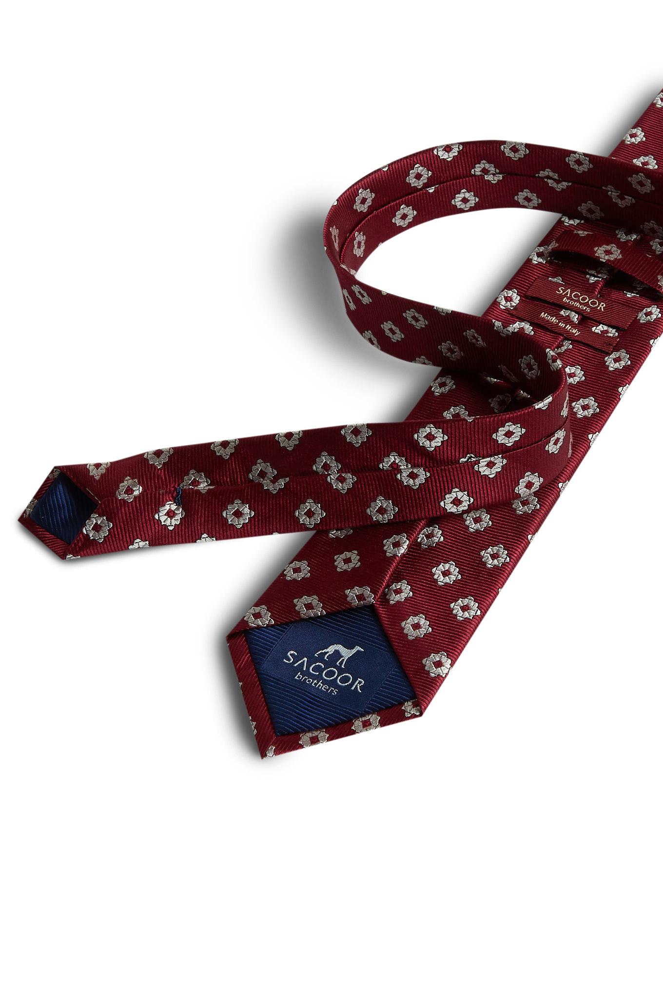 Tie Dark Red Formal Man