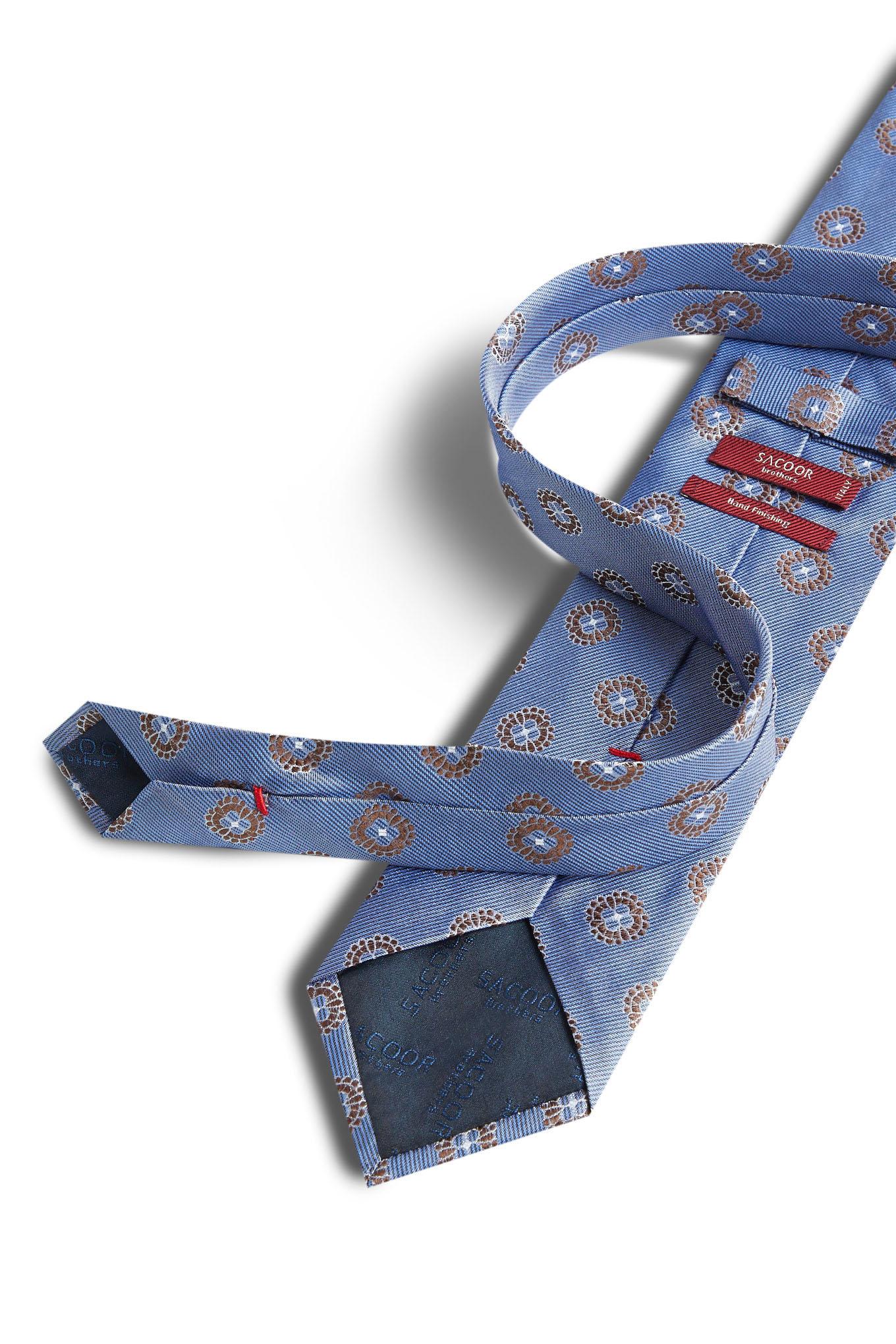 Gravata Azul Formal Homem