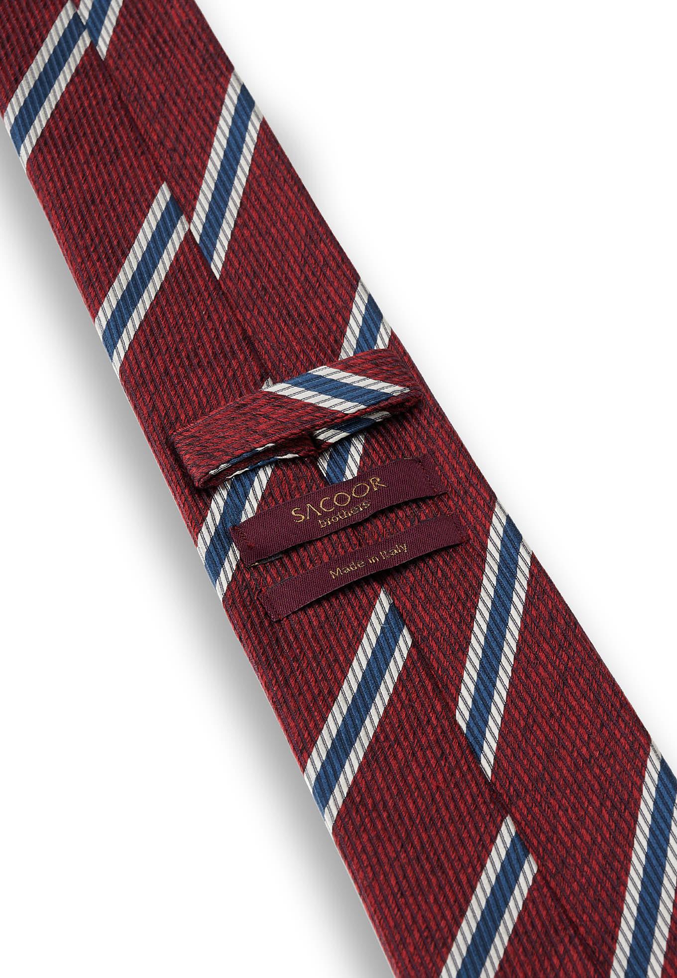 Tie Bordeaux Formal Man